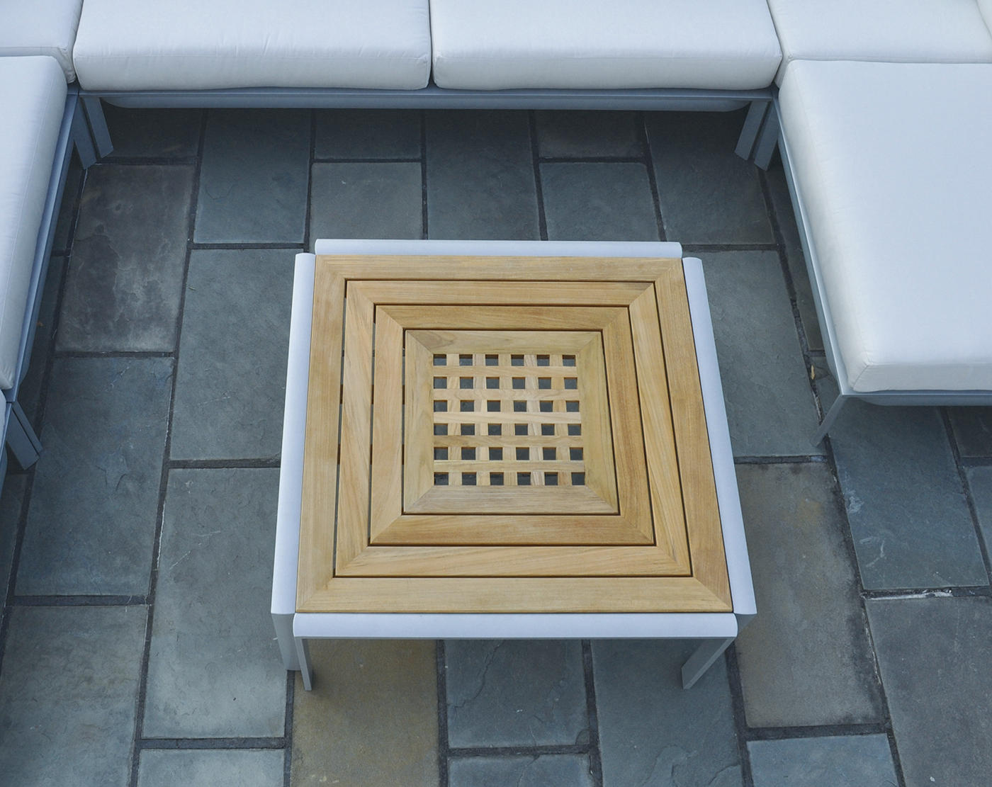 Naples sectional square corner chair gartensessel von for Table 52 naples