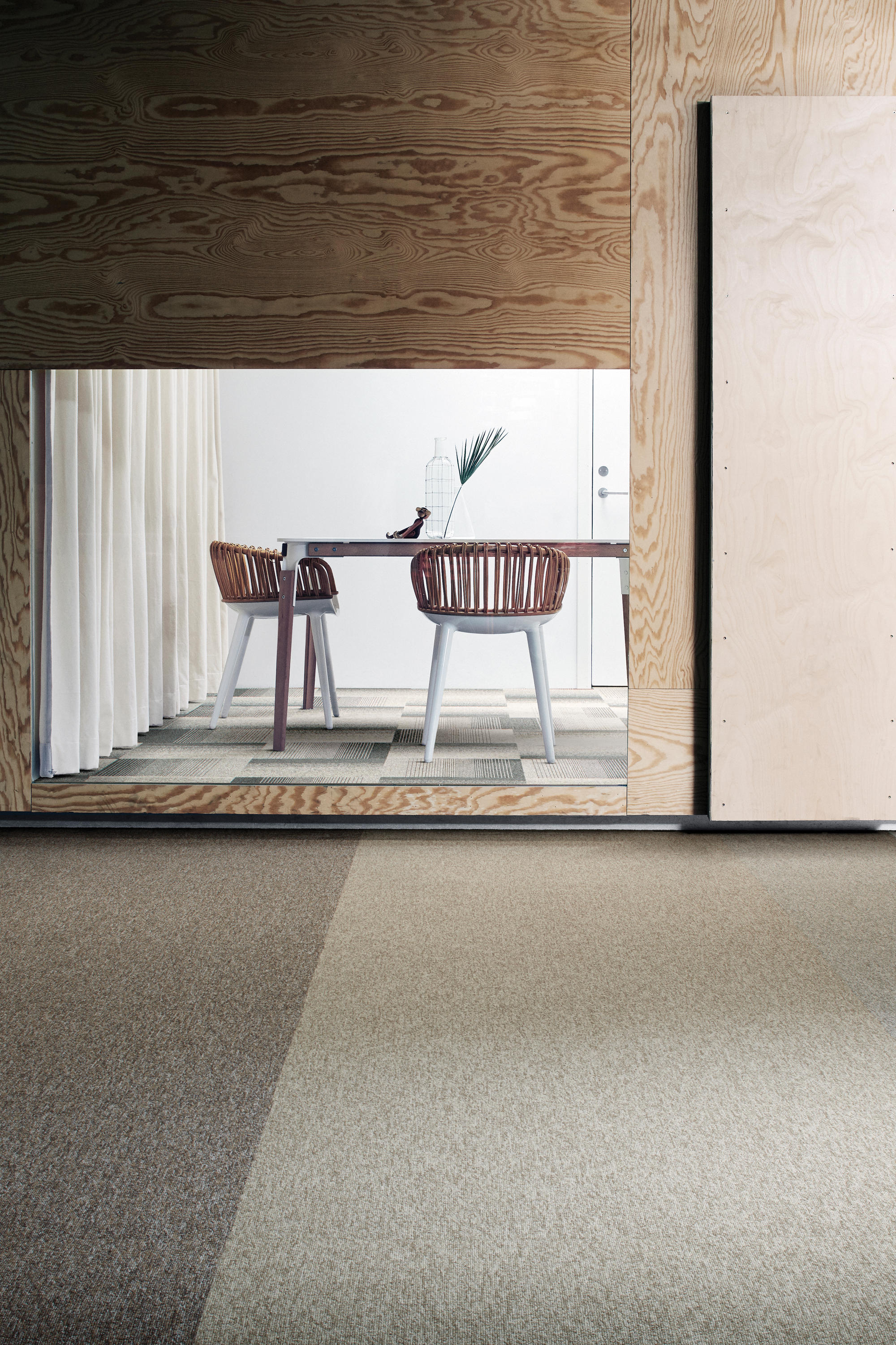 Employ Lines 4223001 Harvest Carpet Tiles From Interface