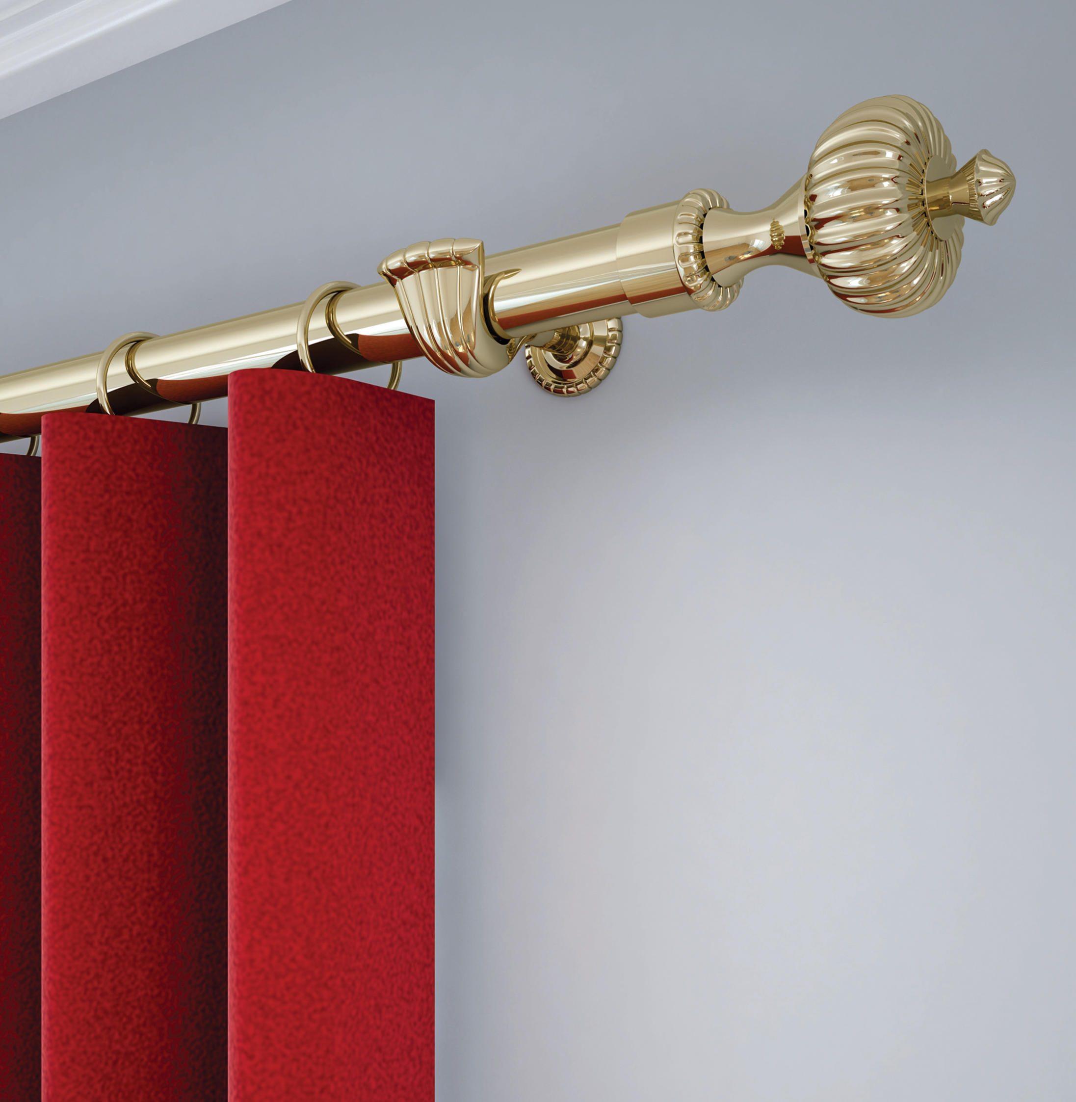 European Elegance Arcadia Curtain Rails From Vesta Drapery - The-elegance-of-the-arcadia