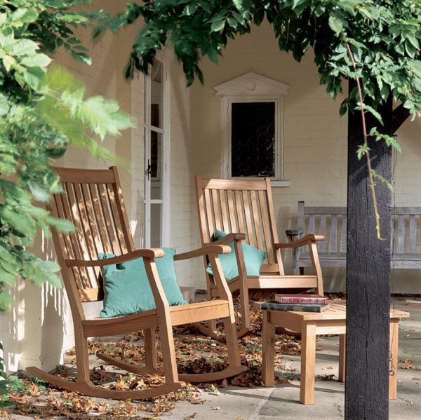 newport rocking chair fauteuils de jardin de barlow tyrie architonic. Black Bedroom Furniture Sets. Home Design Ideas