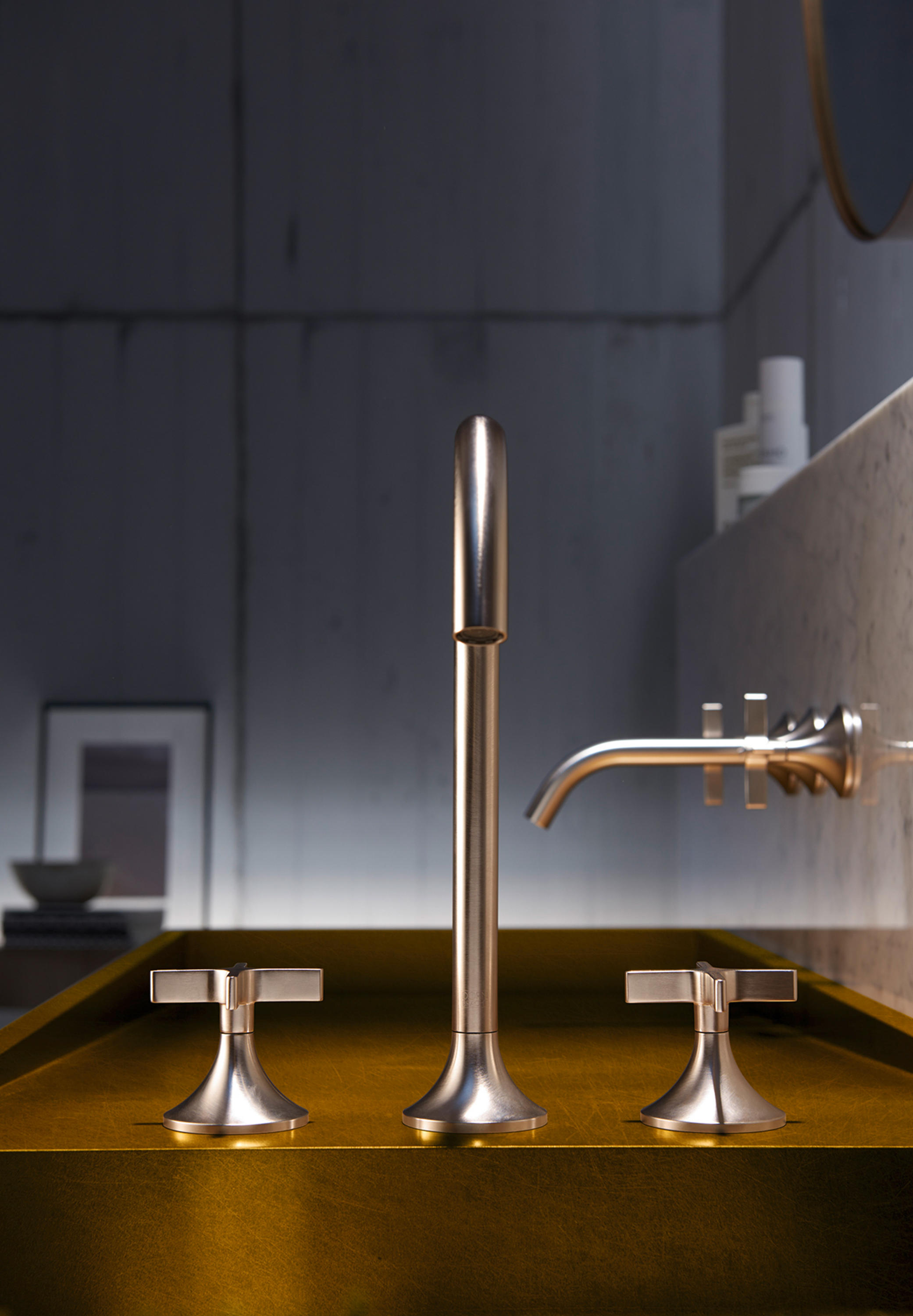 Vaia Single Lever Basin Mixer Wash Basin Taps From