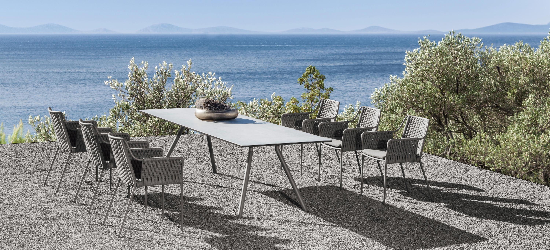 teso armlehnstuhl gartenst hle von fischer m bel architonic. Black Bedroom Furniture Sets. Home Design Ideas