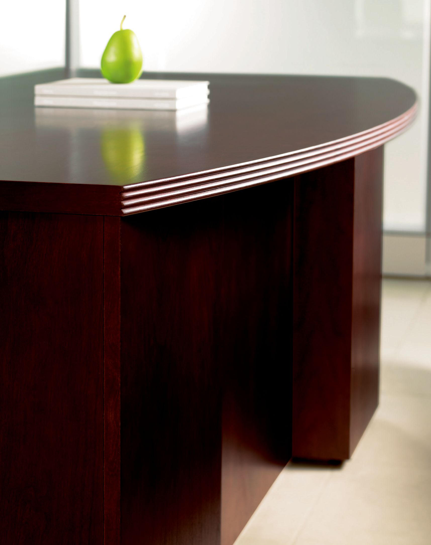 Expansion wood executive desks from teknion architonic for Furniture 08054