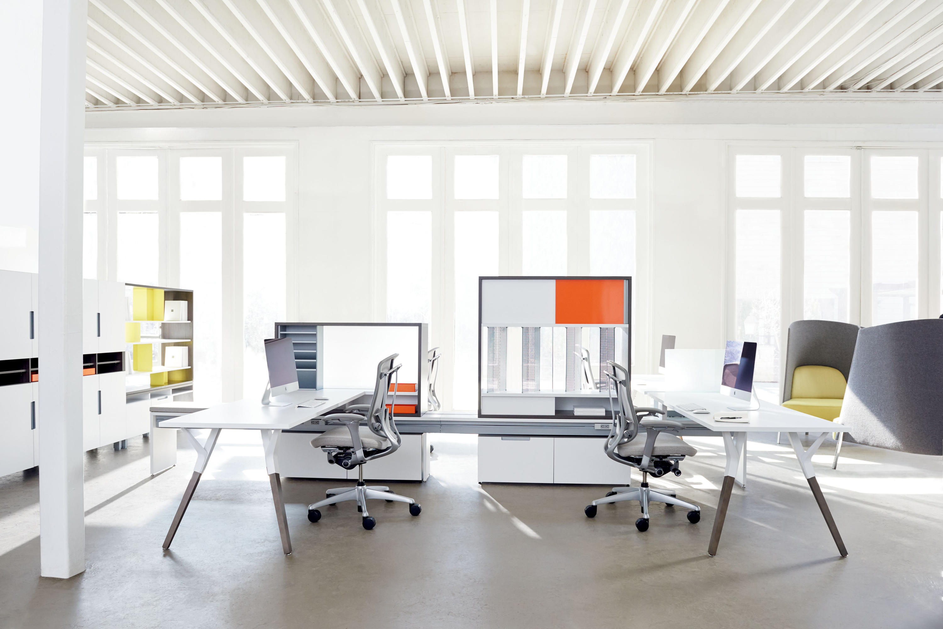 Upstage Desks From Teknion Architonic