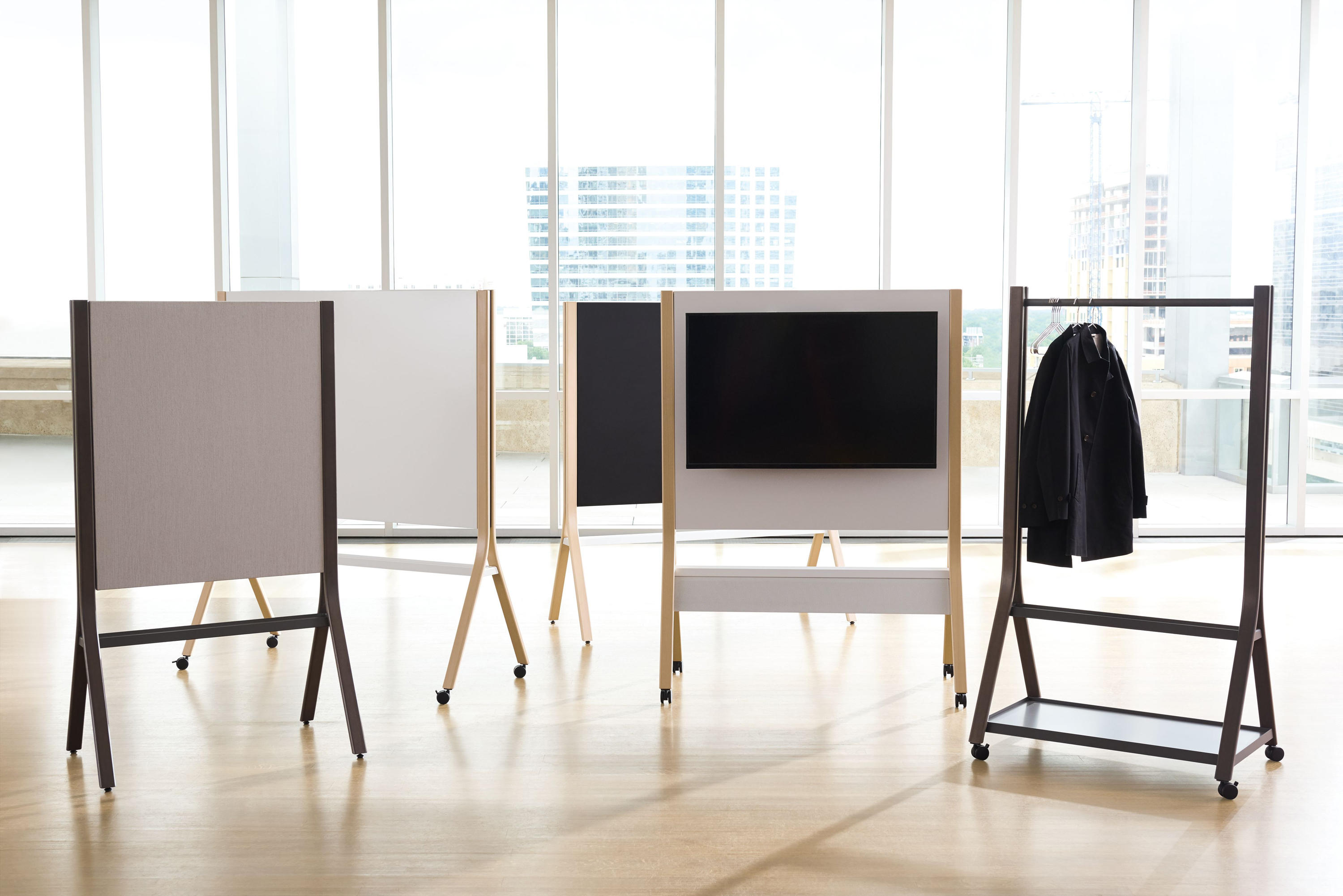 Zones easel writing consoles from teknion architonic for Furniture 08054