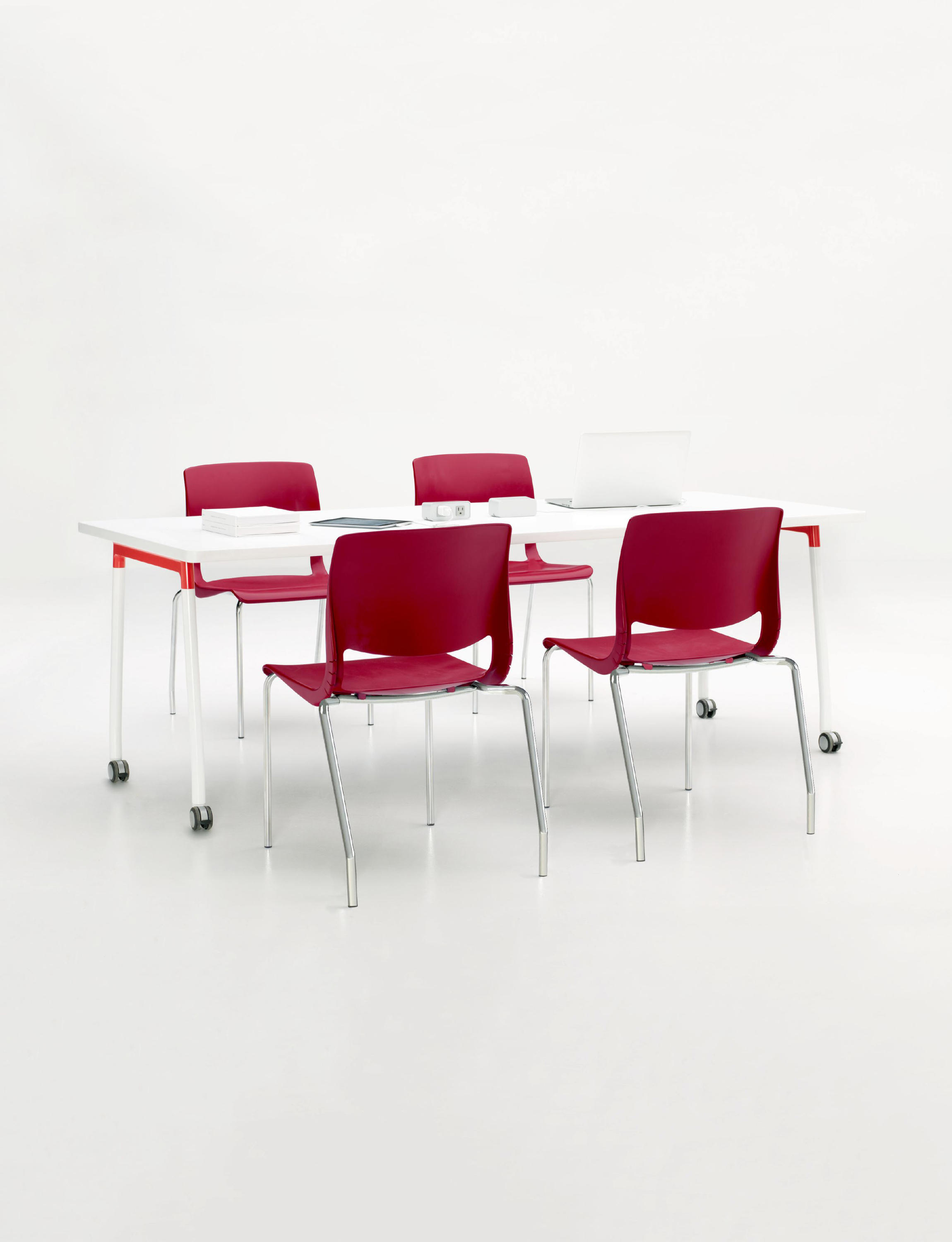 VARIABLE STACKING CHAIR Multipurpose chairs from Teknion