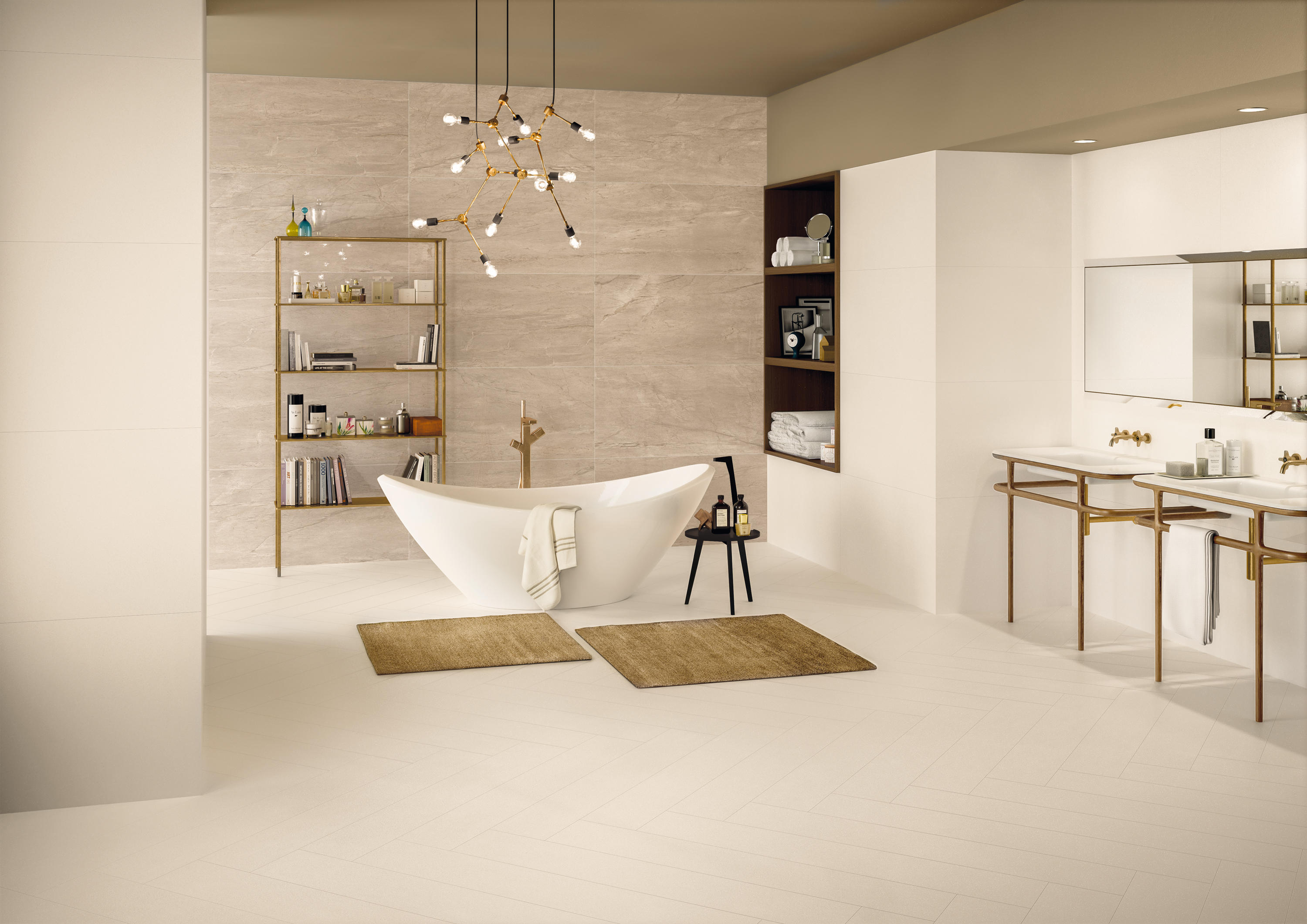 Elements Design Ivory Ceramic Tiles From Keope