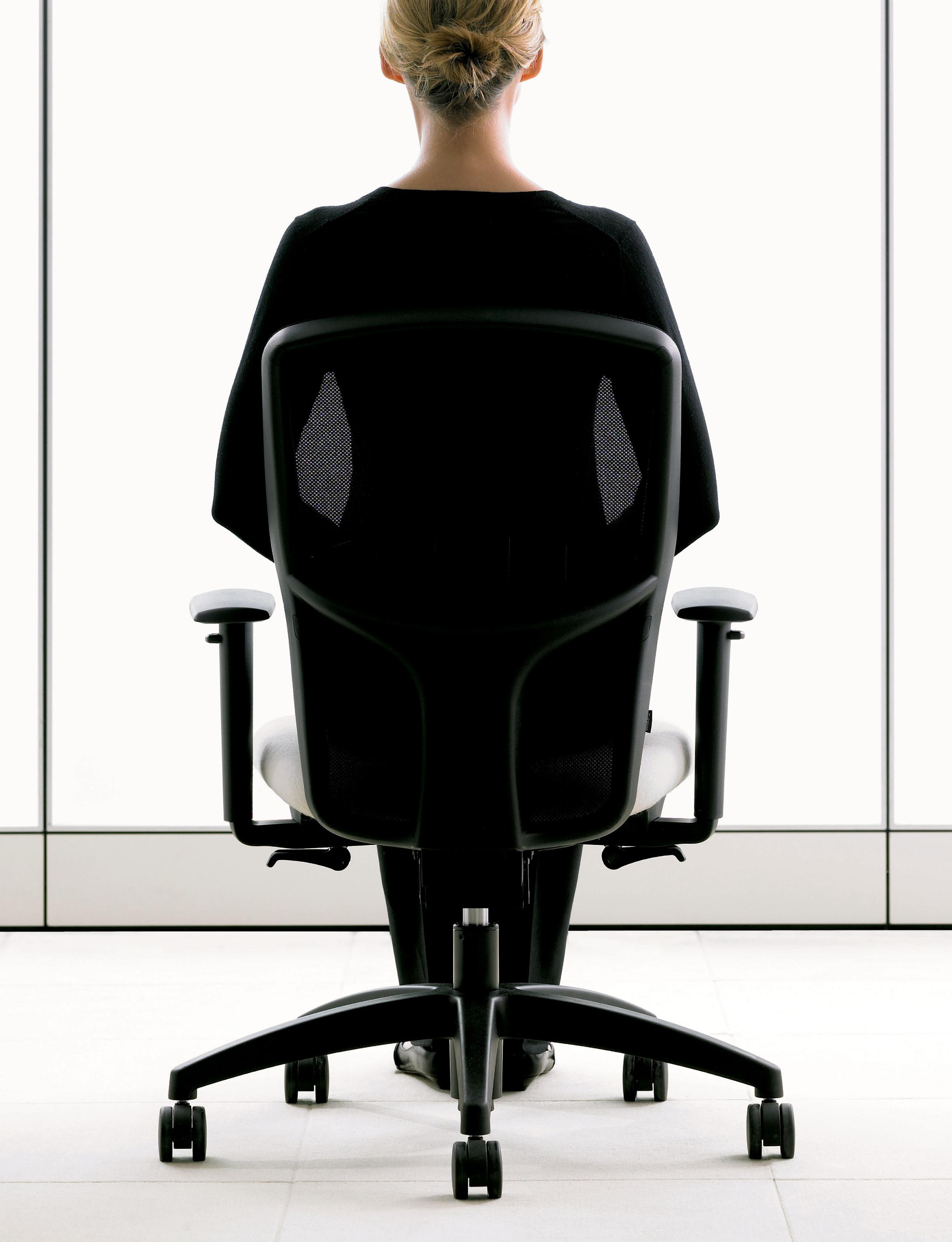 Office chair back view - Ambient Images
