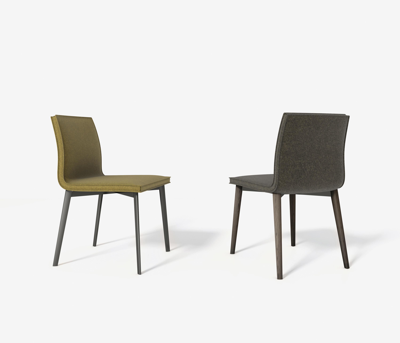 Lias chaise si ges visiteurs d 39 appoint de bonaldo for Chaise d appoint