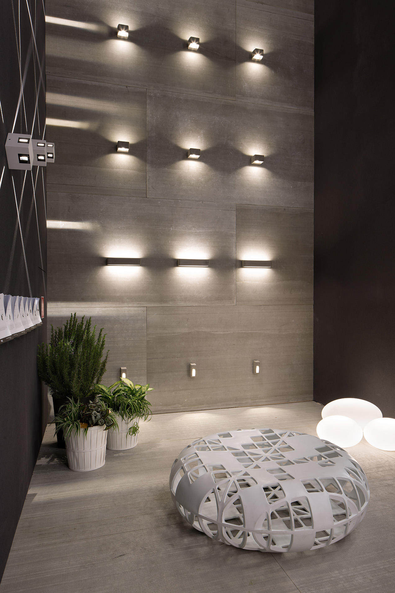 Cem W Outdoor Recessed Wall Lights From Linea Light