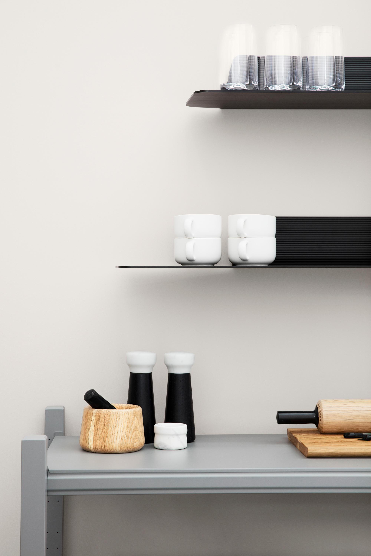 Nice Kitchen With Pillars Gift - Kitchen Cabinets | Ideas ...