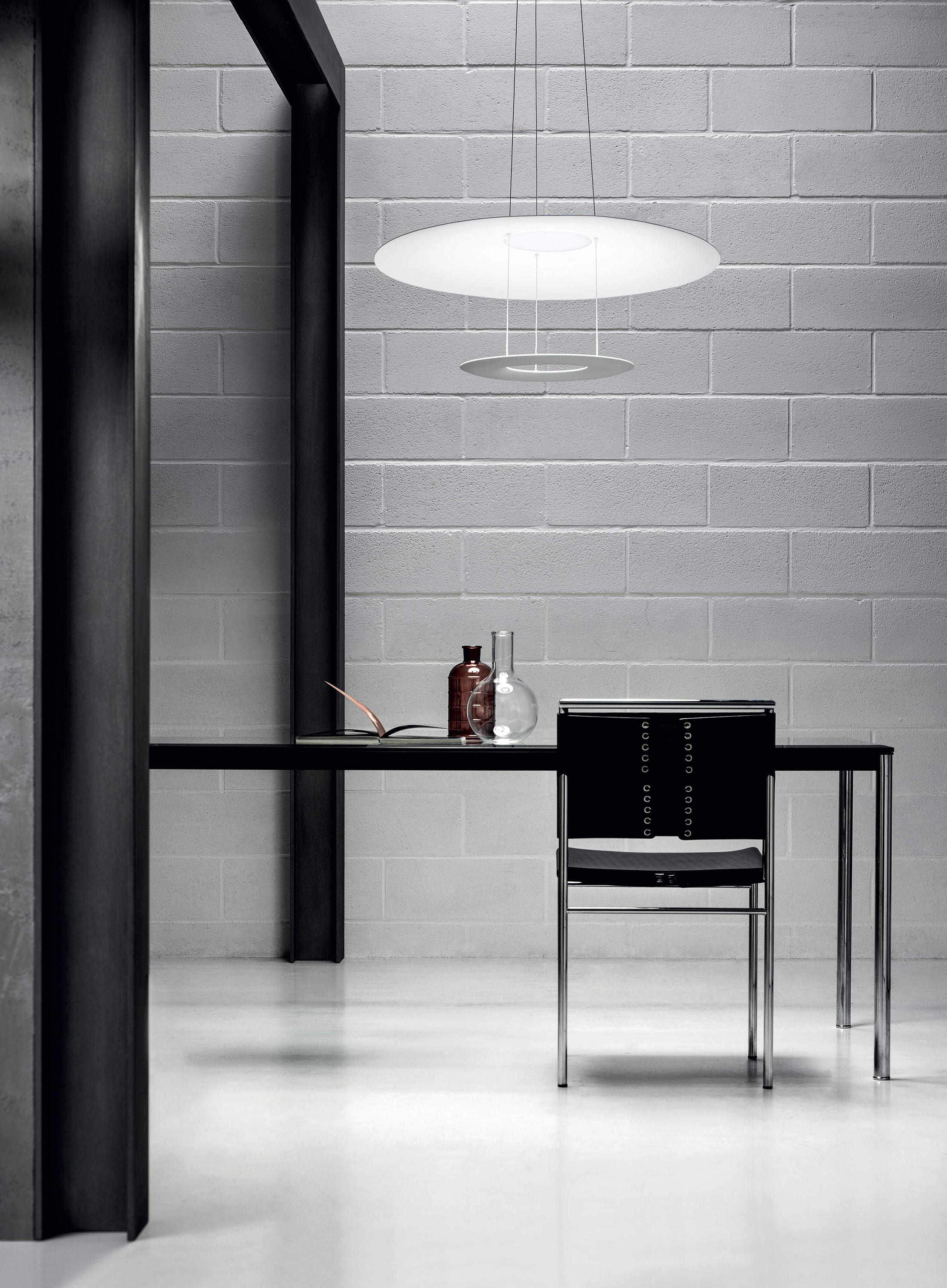 Madame Blanche P2 Suspended Lights From Linea Light Group Architonic