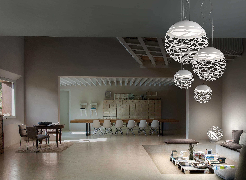 Kelly Sphere Suspended Lights From Studio Italia Design