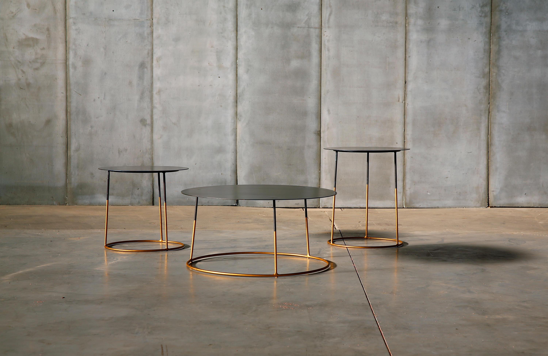 NIMBUS GOLD Lounge tables from Heerenhuis