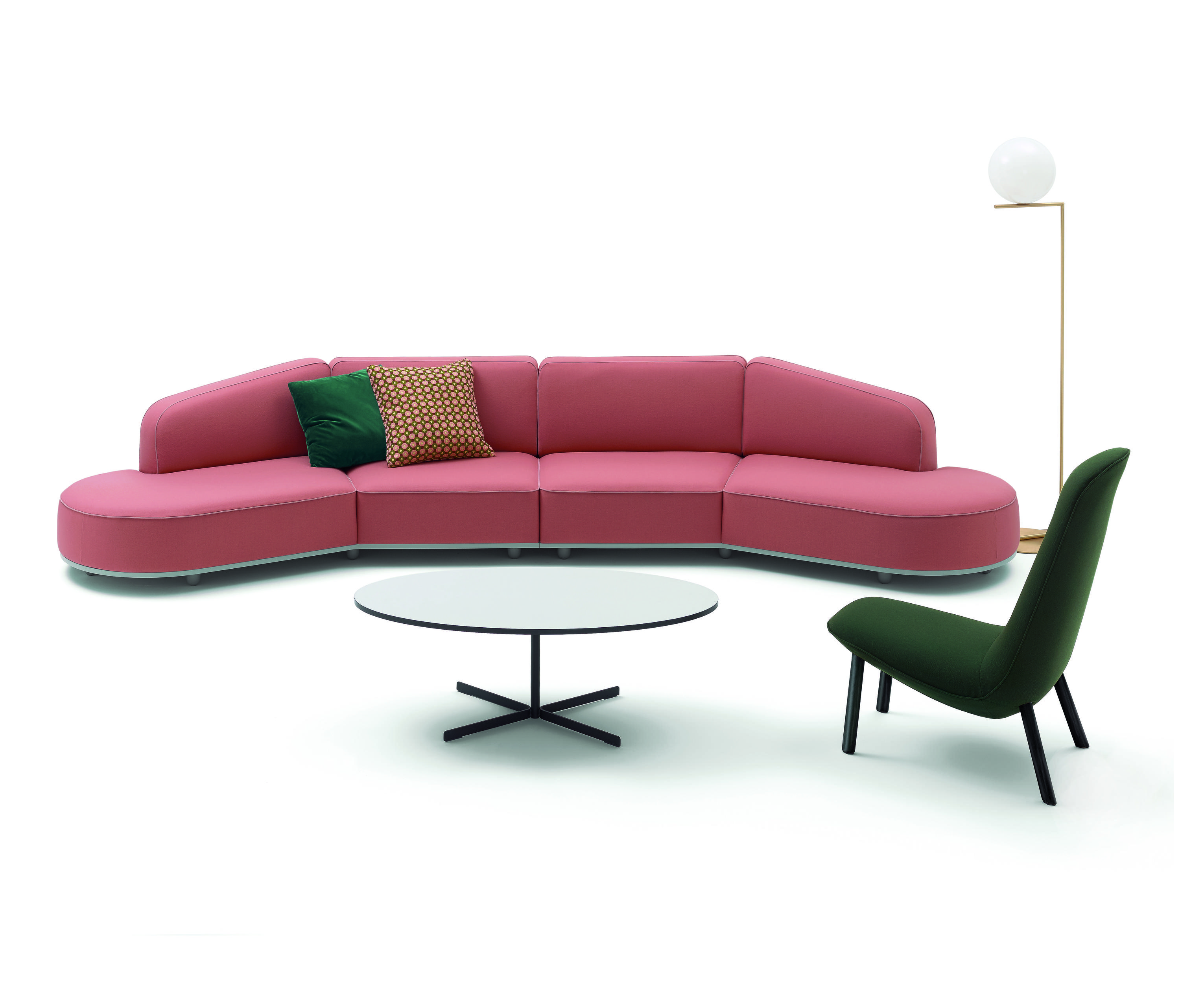 Arcolor sofa lounge sofas from arflex architonic for Sofas modulares precios
