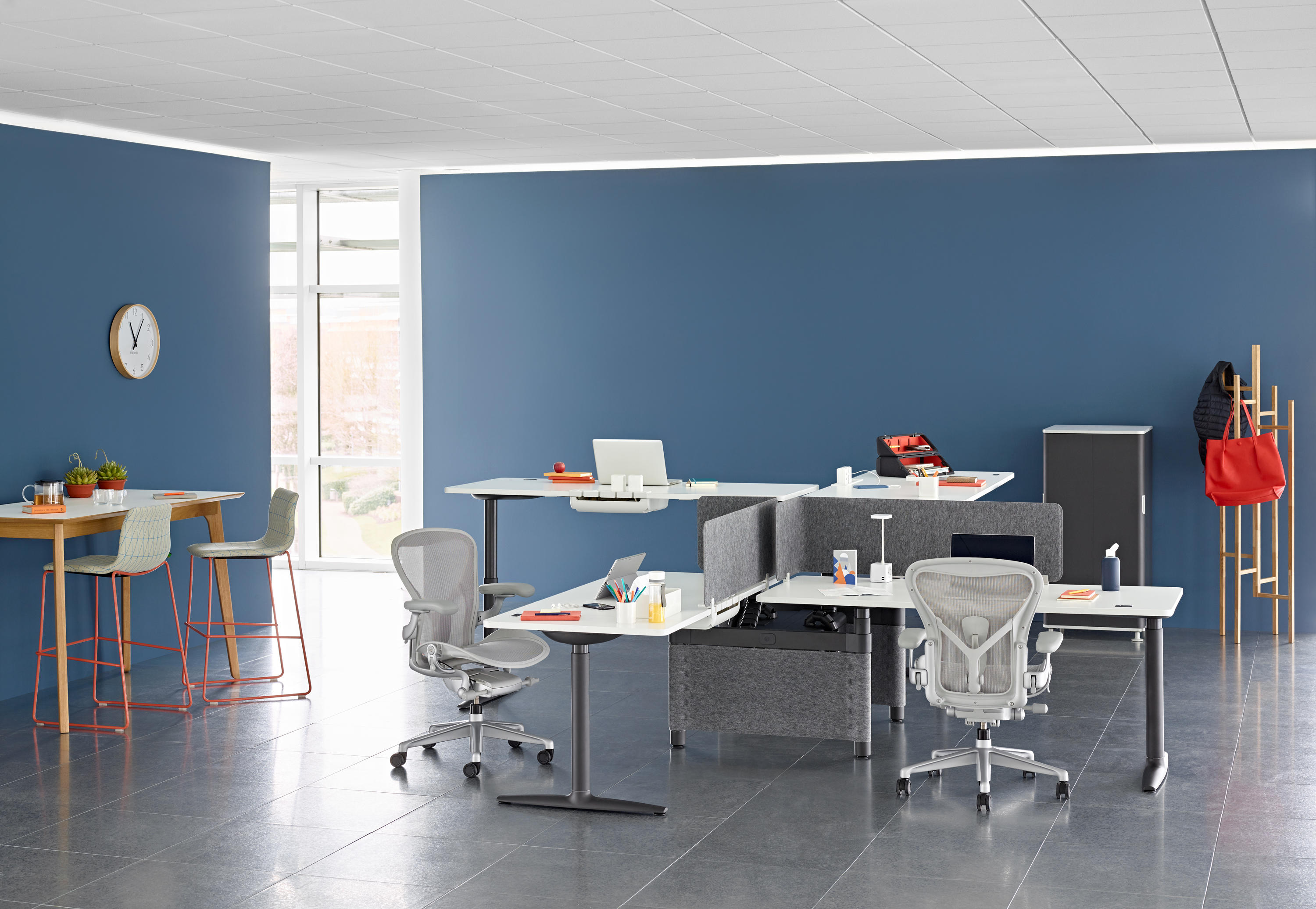 atlas office landscape  desking systems from herman miller  -  atlas office landscape by herman miller