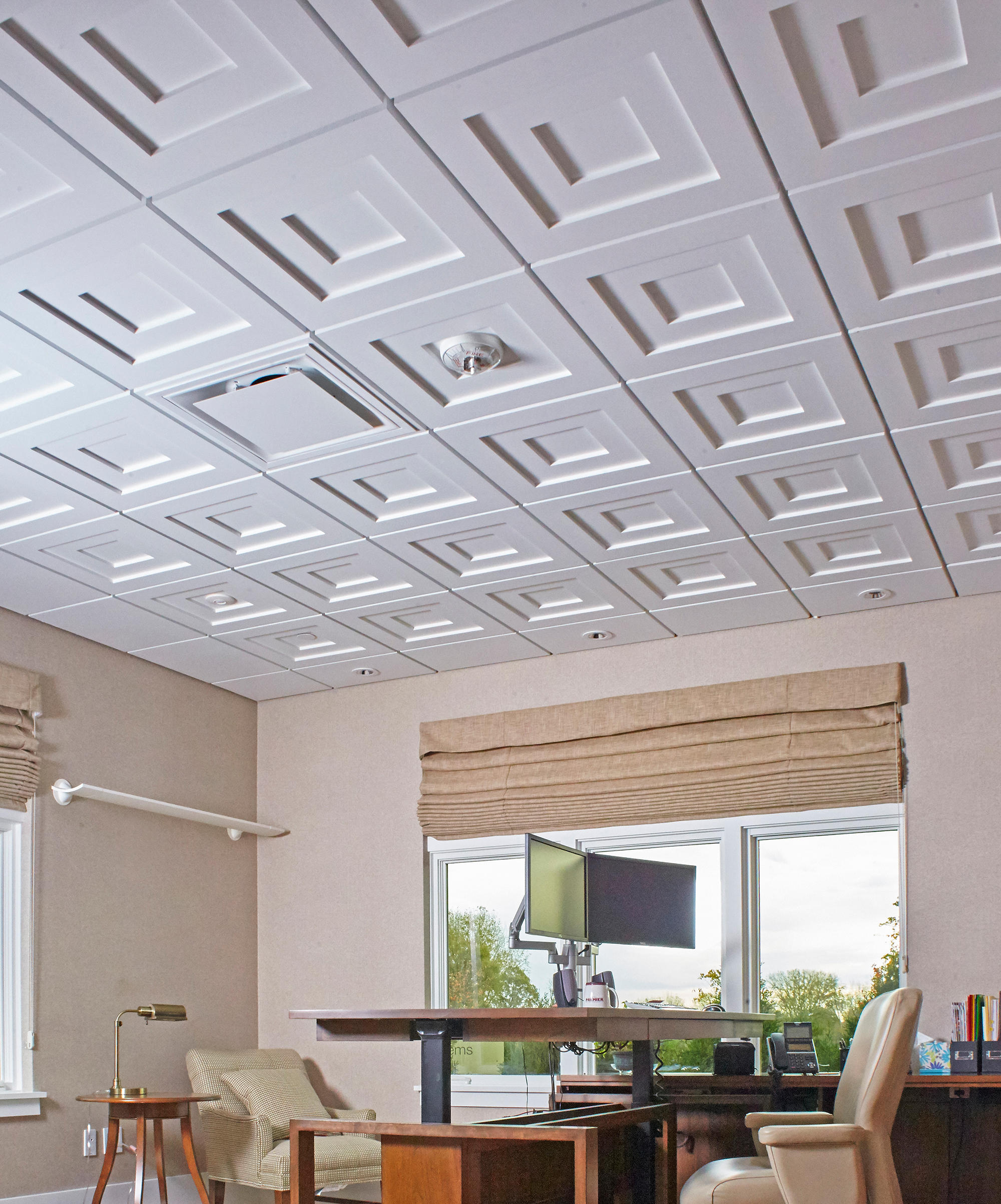 Step Up 1.2.3 for 9/16 Grid Ceiling Tile by Above View Inc ...