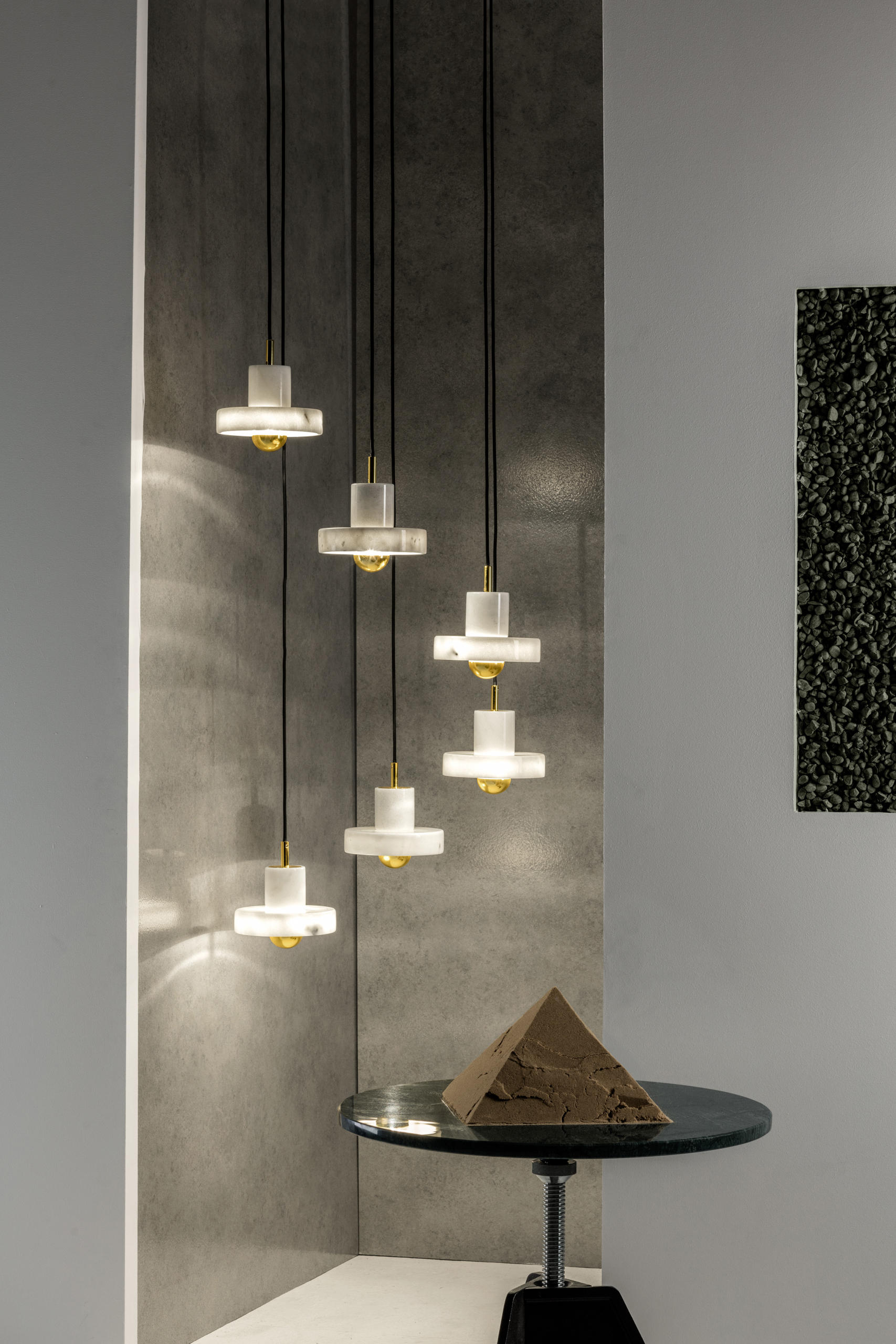 Stone Pendant Suspended Lights From Tom Dixon Architonic