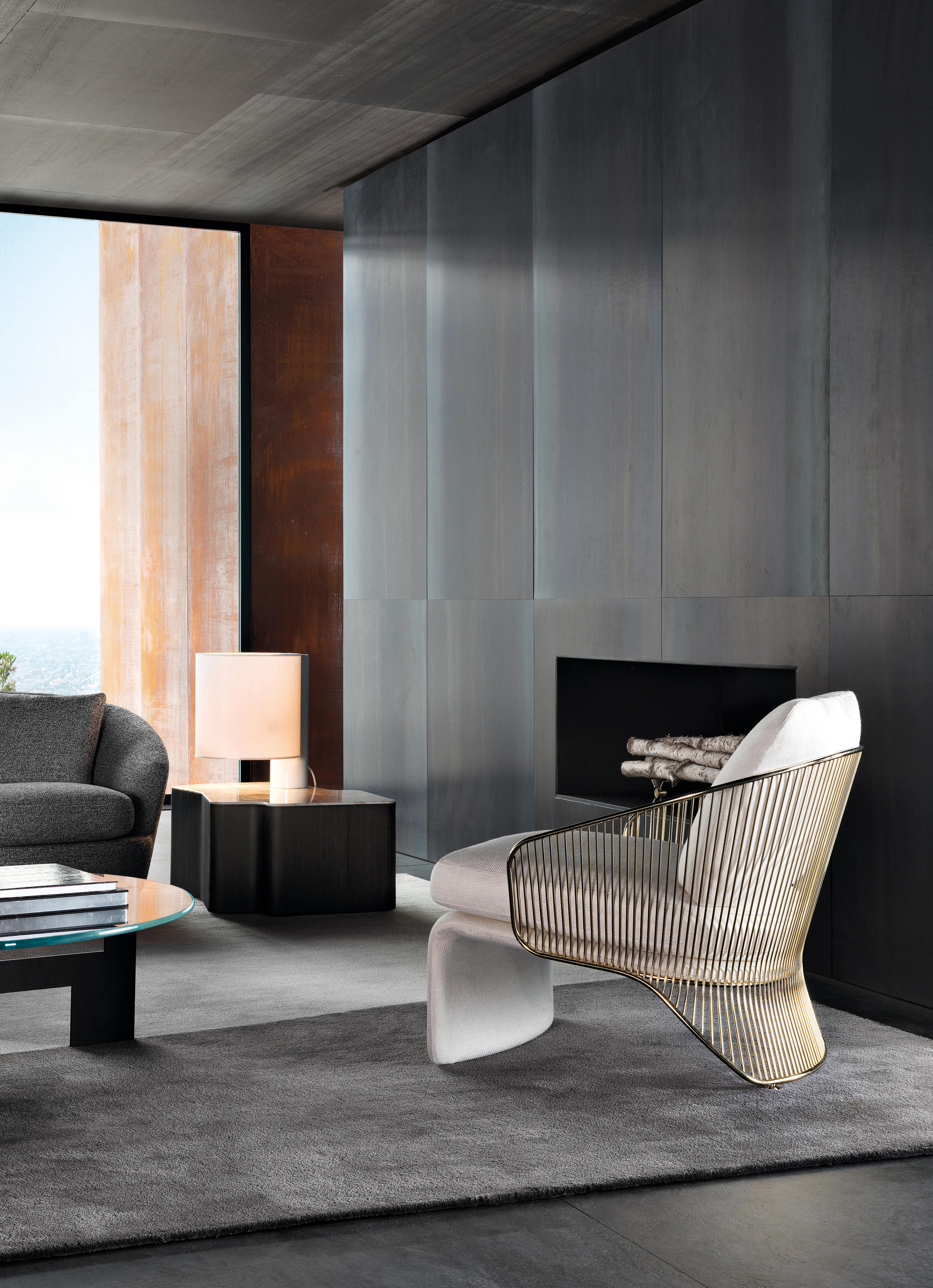 Colette Armchair Lounge Chairs From Minotti Architonic