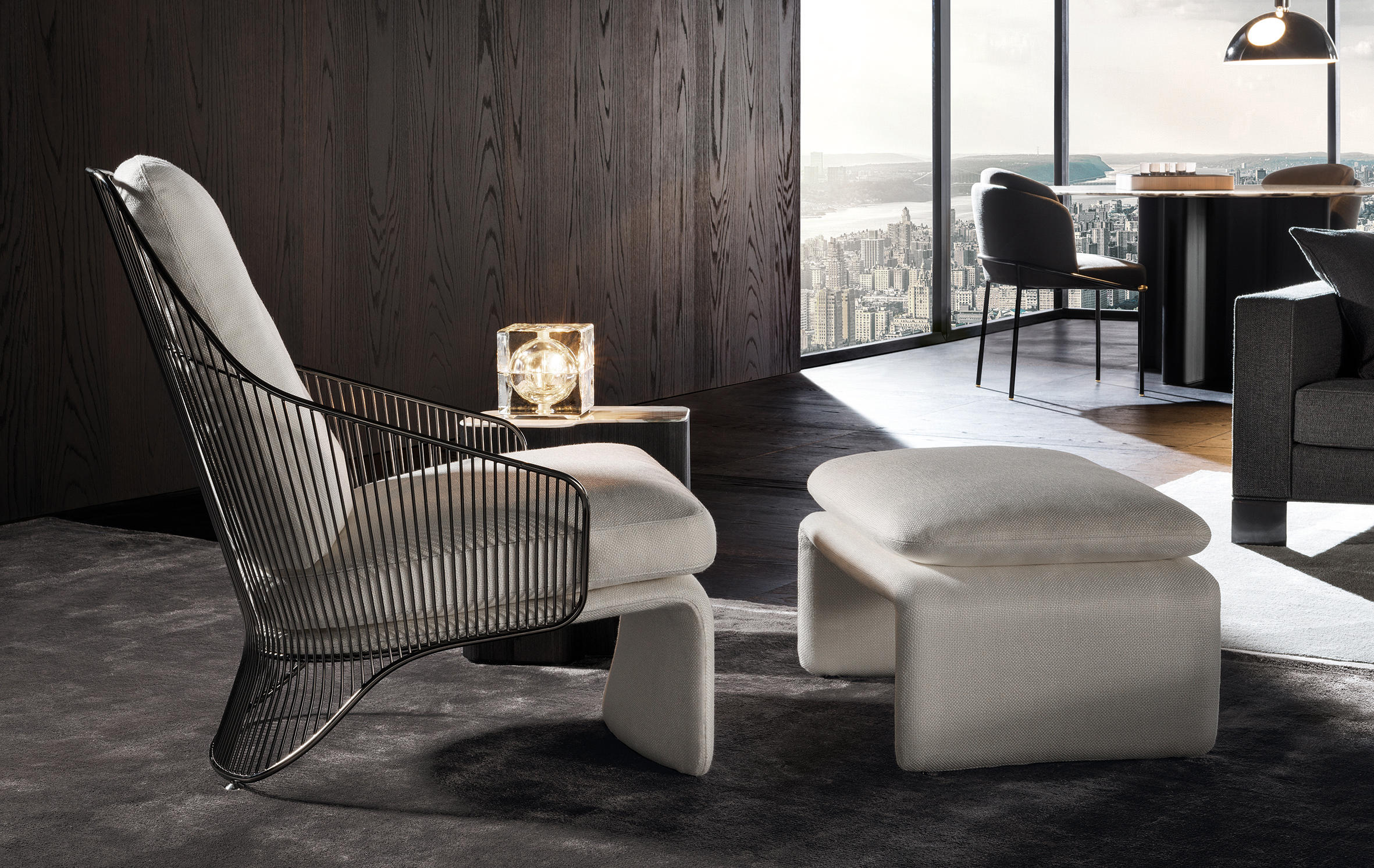 colette armchair lounge chairs from minotti architonic. Black Bedroom Furniture Sets. Home Design Ideas