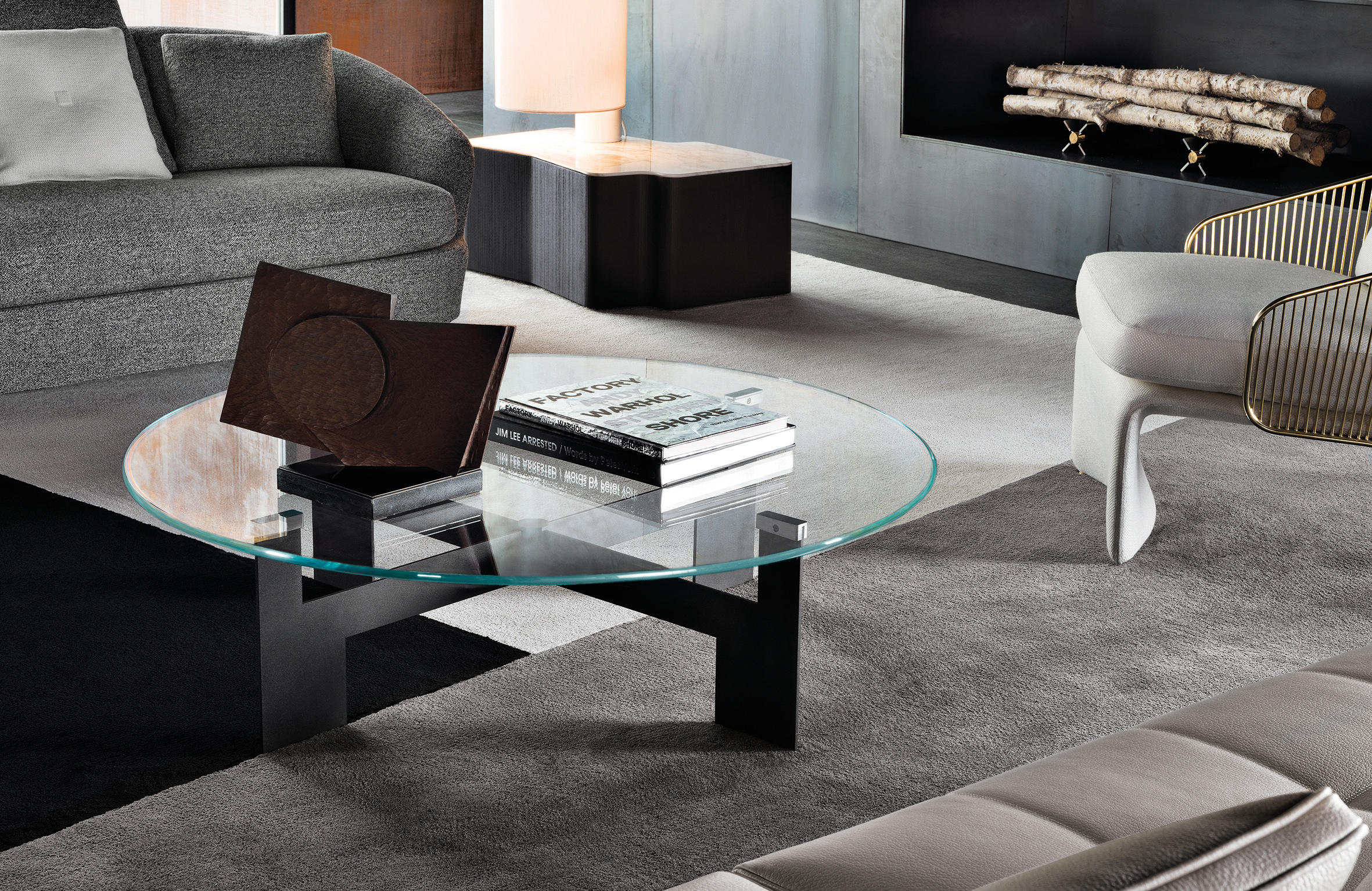 Ellis coffee table side tables from minotti architonic for Minotti coffee table