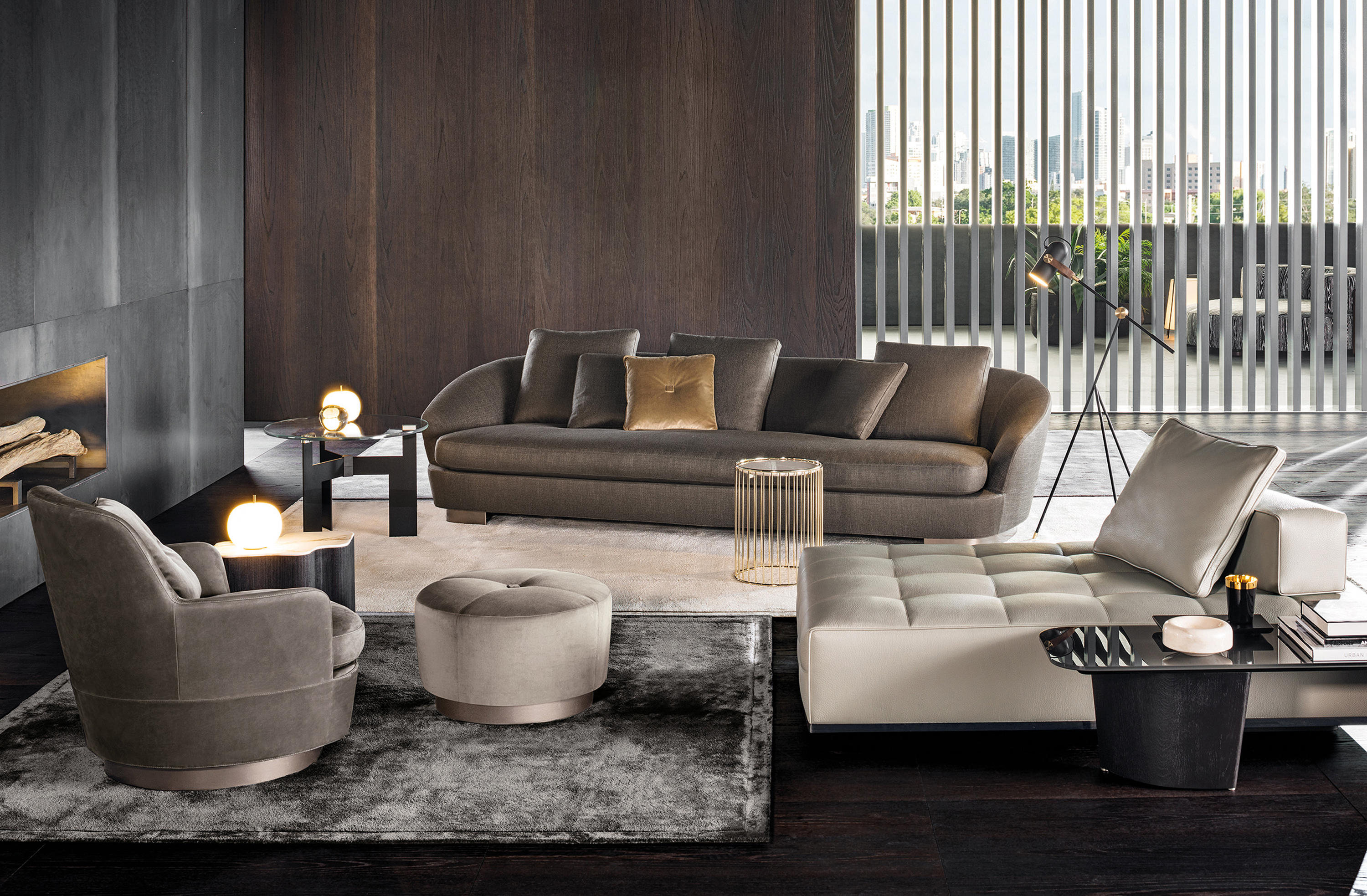 jacques armchair armchairs from minotti architonic. Black Bedroom Furniture Sets. Home Design Ideas