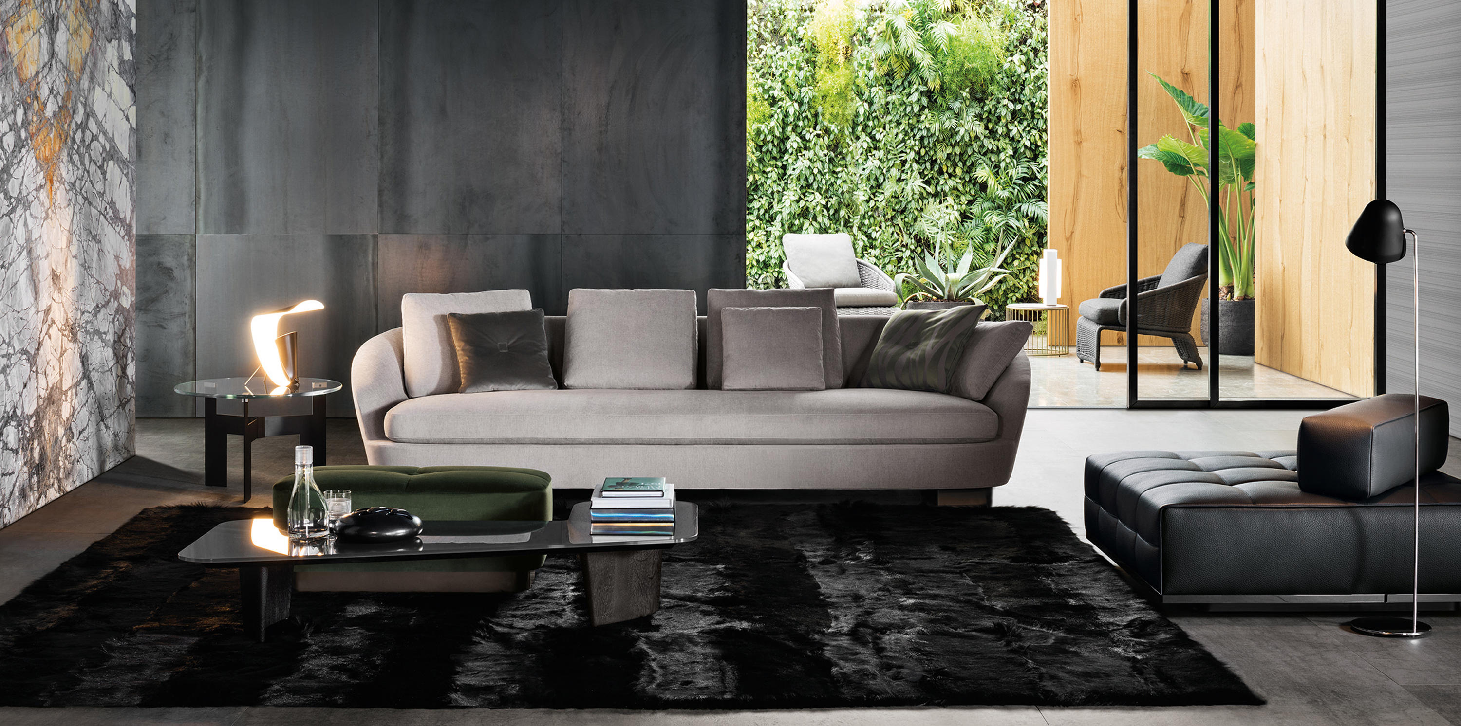 jacques armchair lounge chairs from minotti architonic. Black Bedroom Furniture Sets. Home Design Ideas