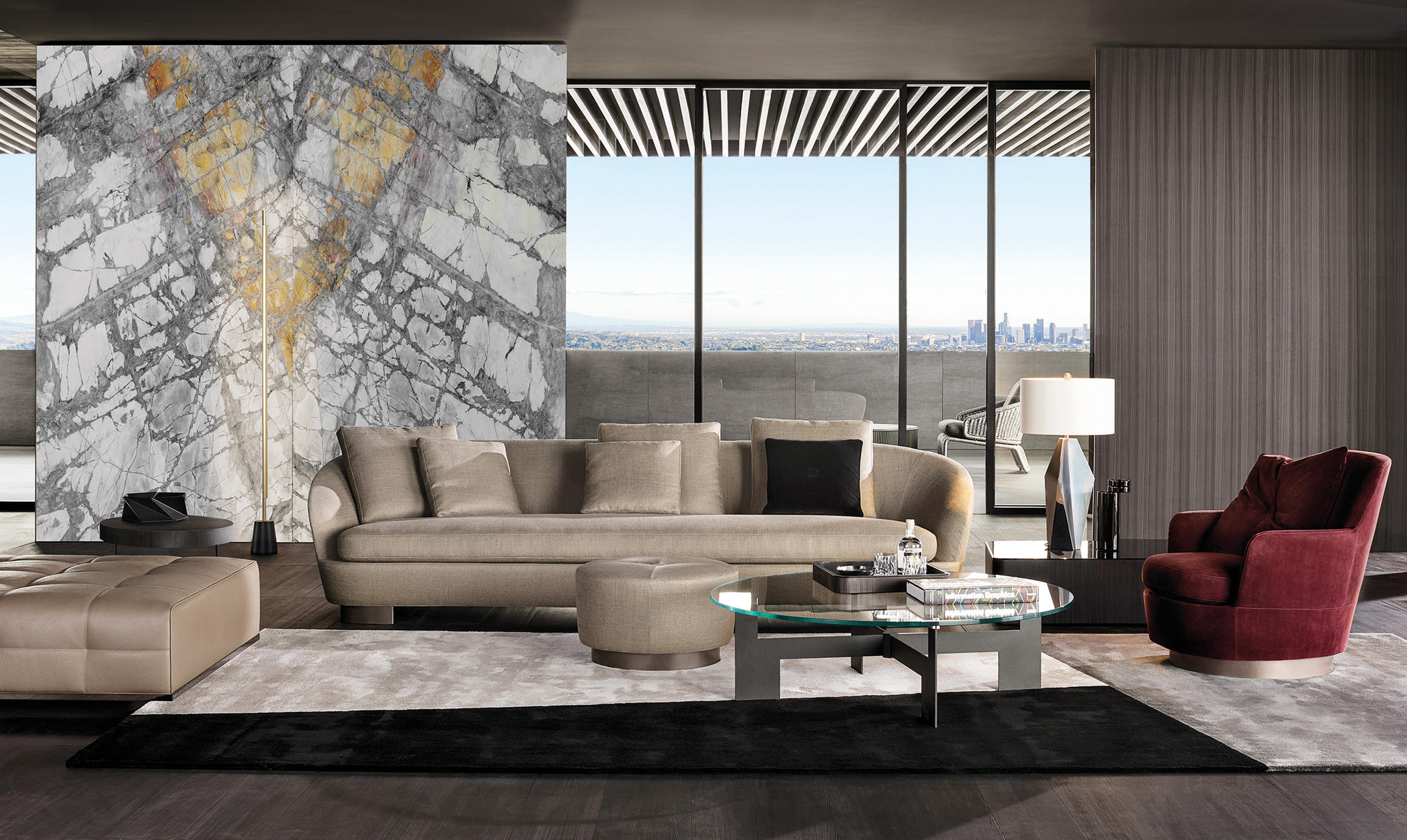 Jacques Sofa Lounge Sofas From Minotti Architonic