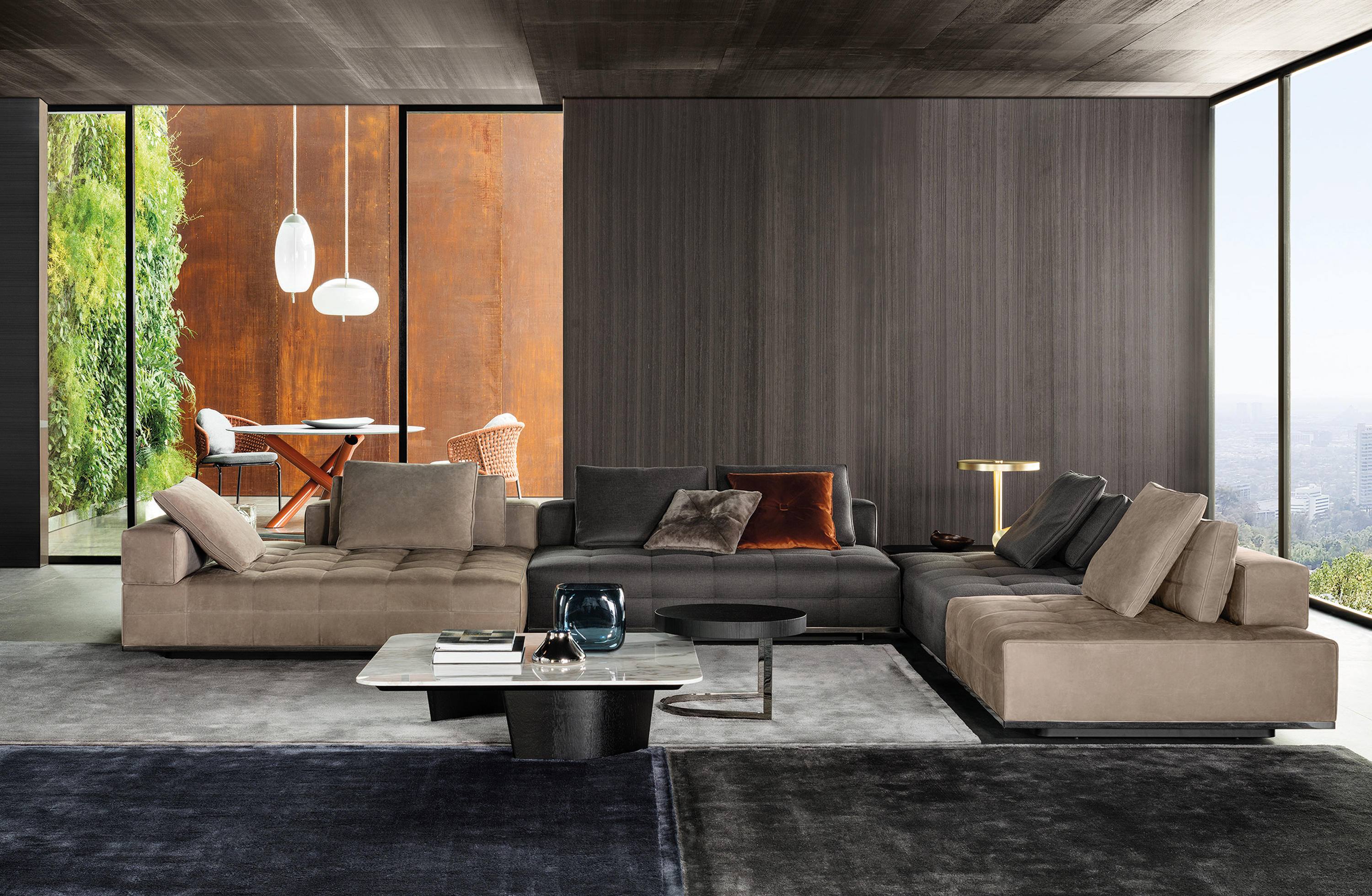 ti live room seating system sofas minotti architonic 10599