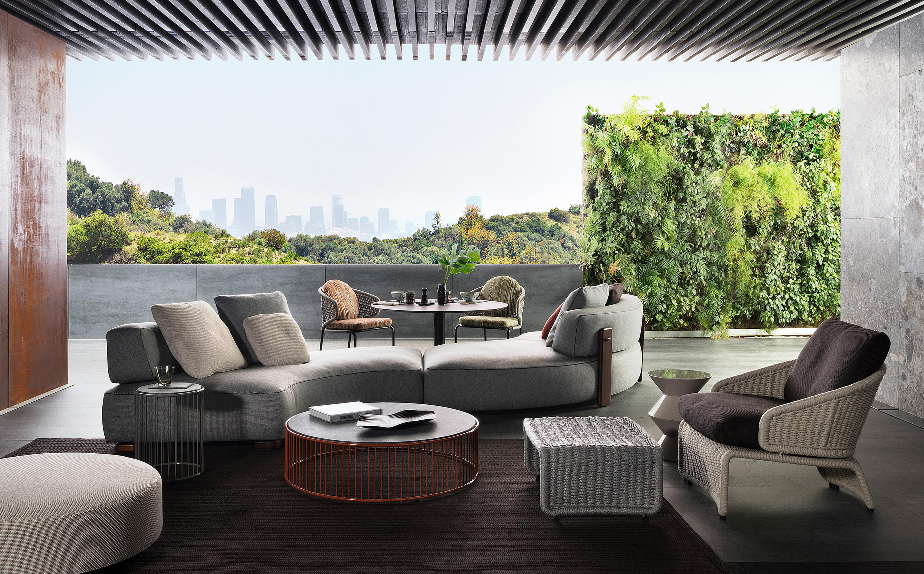 minotti outdoor furniture. Florida Outdoor Sofa By Minotti Furniture