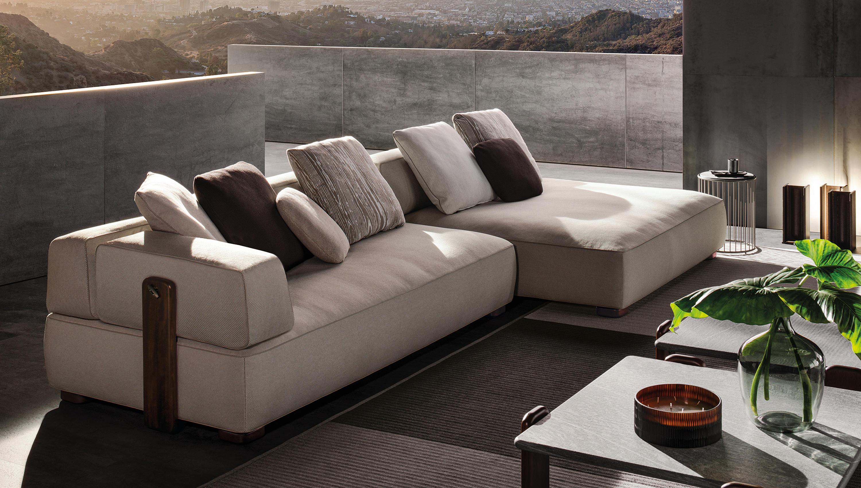 FLORIDA OUTDOOR SOFA Garden sofas from Minotti