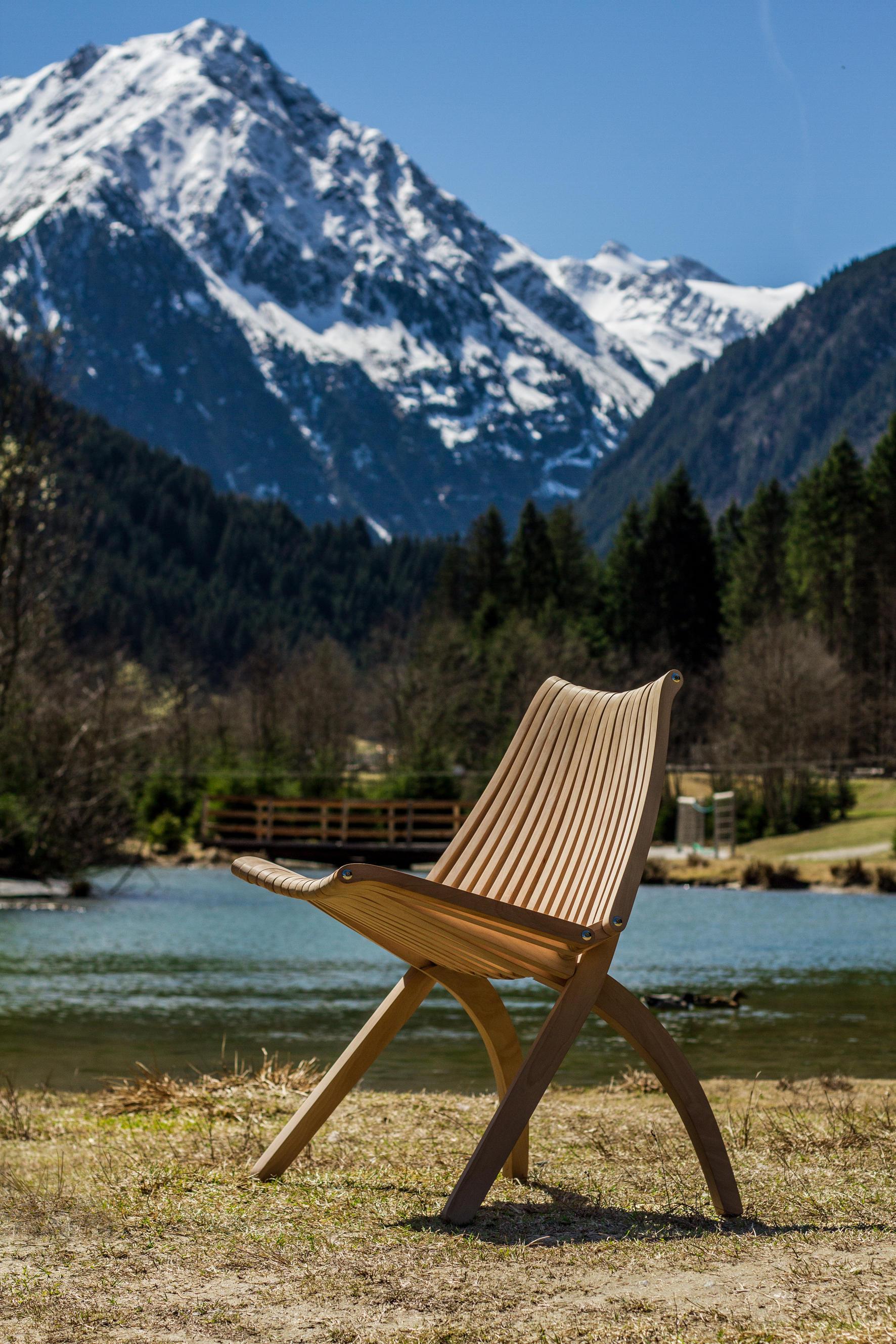 Lotos stuhl schwarz gartenst hle von politura architonic for Stuhl design wettbewerb