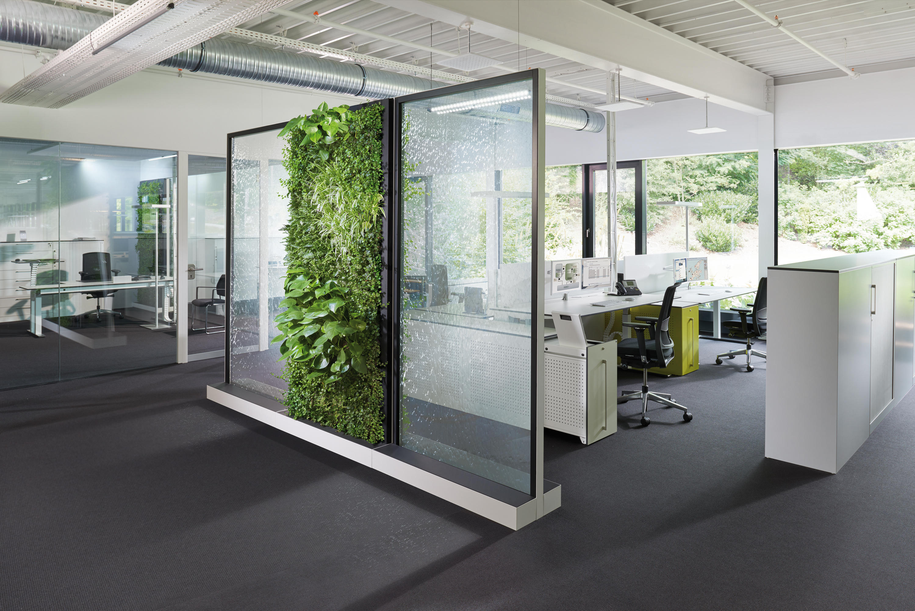 CLIMATE OFFICE MOBILE WASSERWAND CLIMATEOFFICE - Partitions from C+P ...