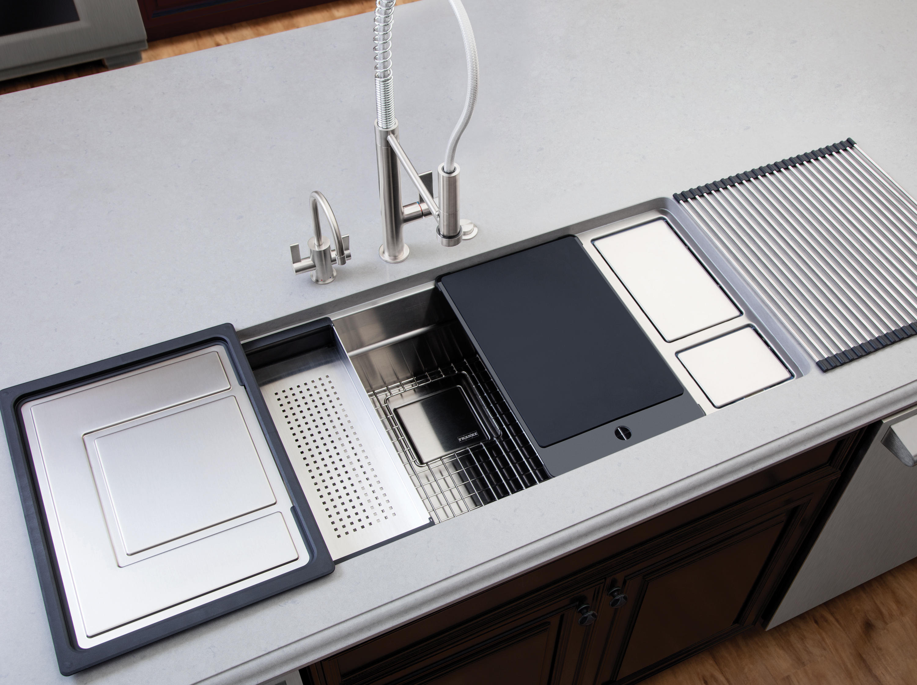 ACCESSORY SINKS DRAIN TRAYS - Kitchen organization from Franke ...
