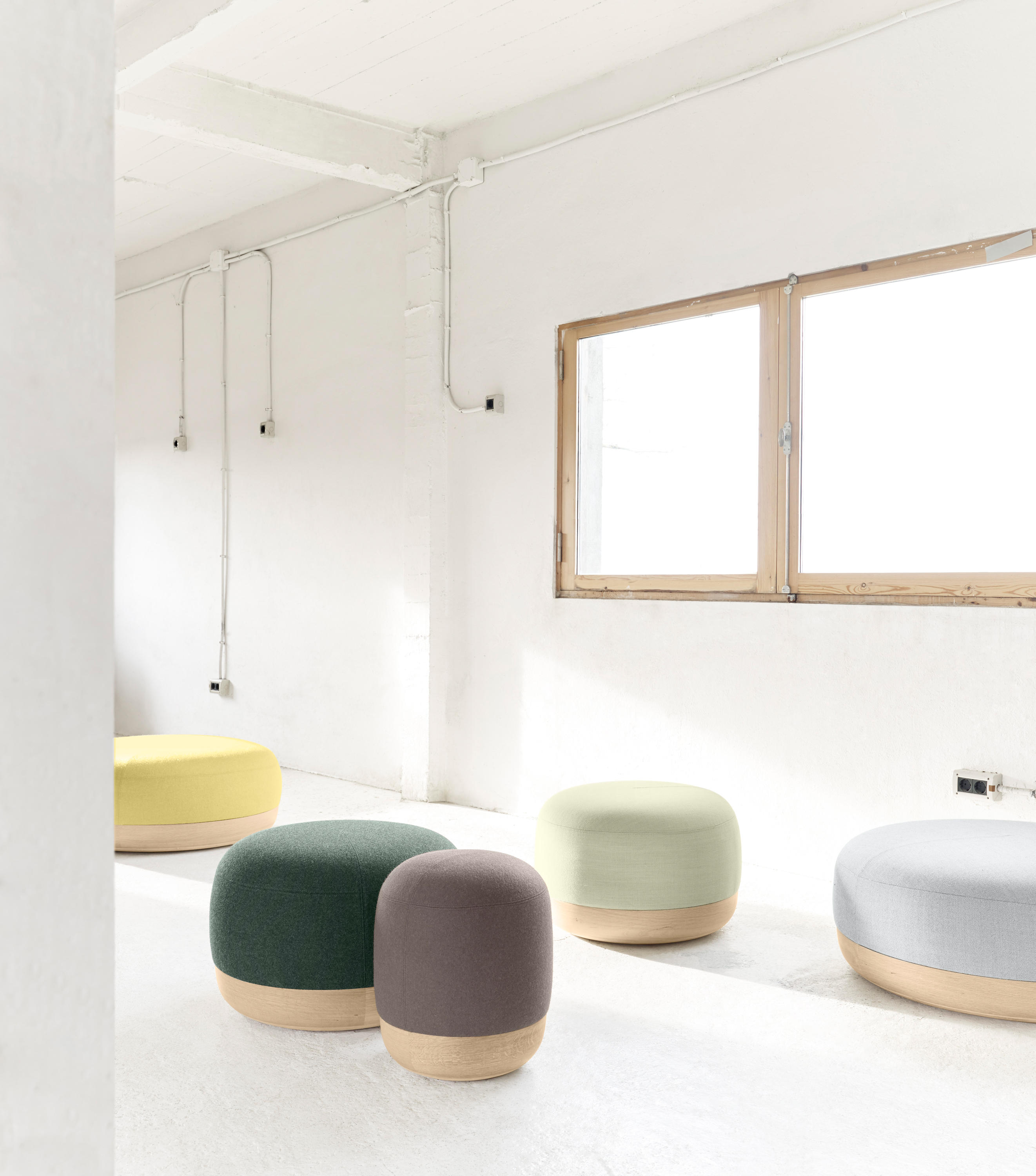 Egon Pouffes Poufs From Alki Architonic