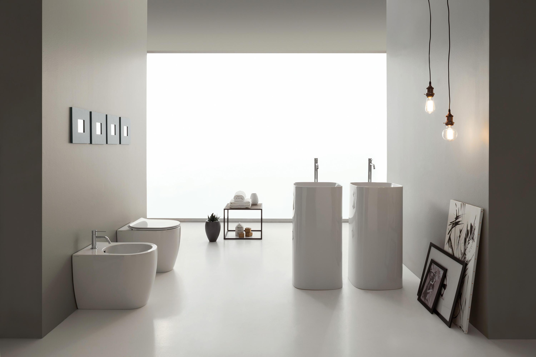 Moon lavabi lavandini scarabeo ceramiche architonic - Produttori ceramiche bagno ...