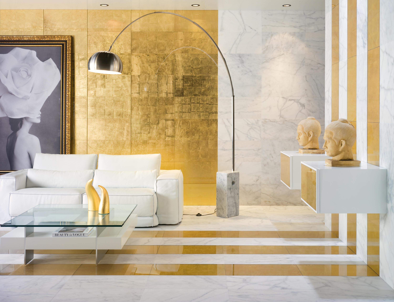 Foglio foglio d oro piastrelle vetro dune cerámica architonic