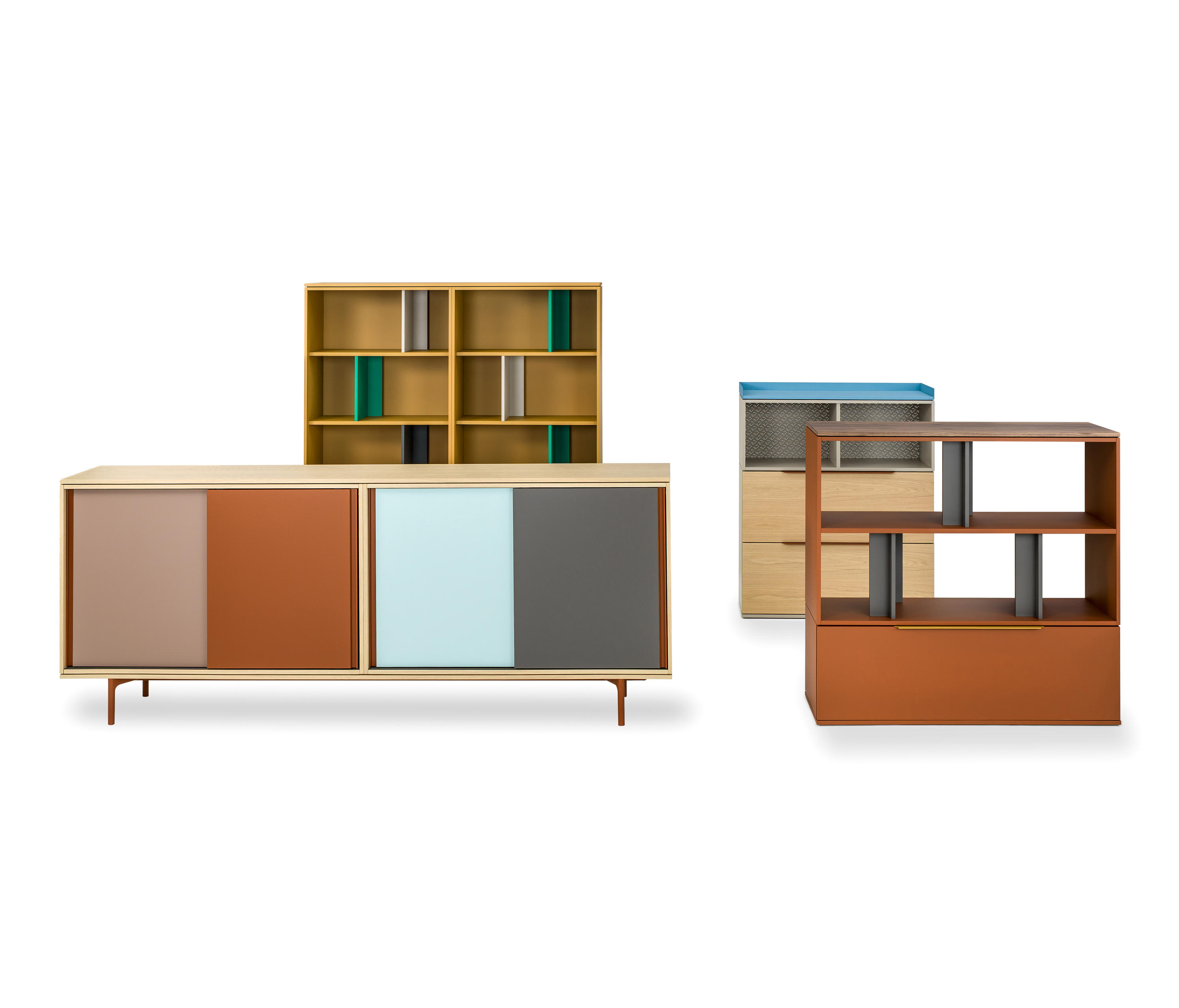 BE HOLD - Office shelving systems from Haworth | Architonic