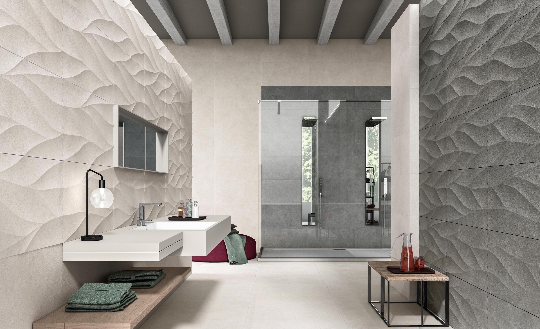Sovereign Avorio Ceramic Tiles From Novabell Architonic - Black-and-white-bathroom-york-by-novabell