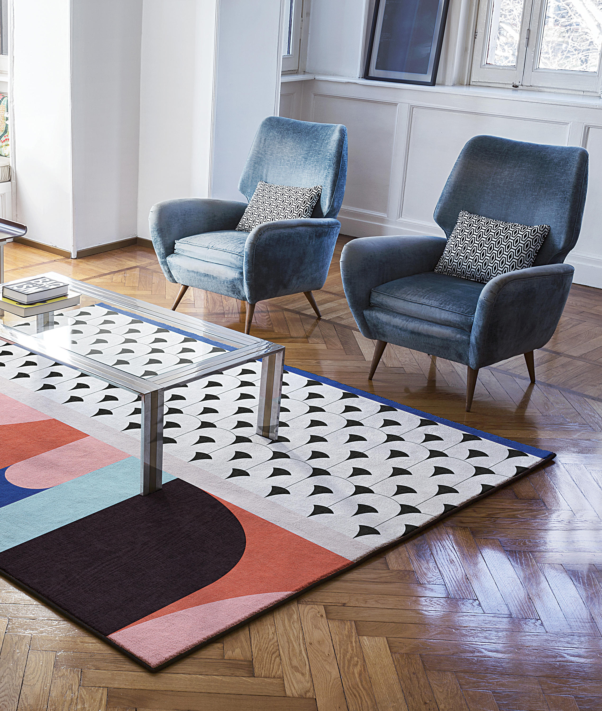 my dec formatteppiche designerteppiche von londonart architonic. Black Bedroom Furniture Sets. Home Design Ideas
