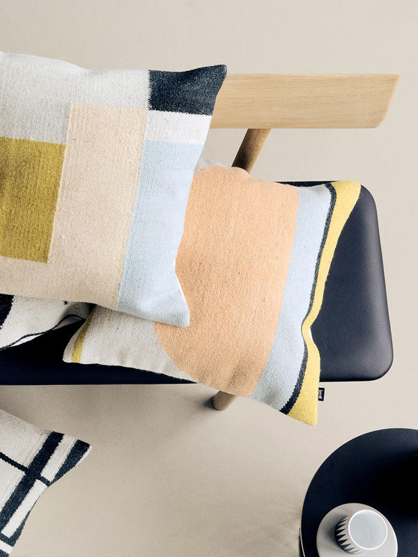 Ordinaire Kelim Cushion   Semicircle By Ferm LIVING ...