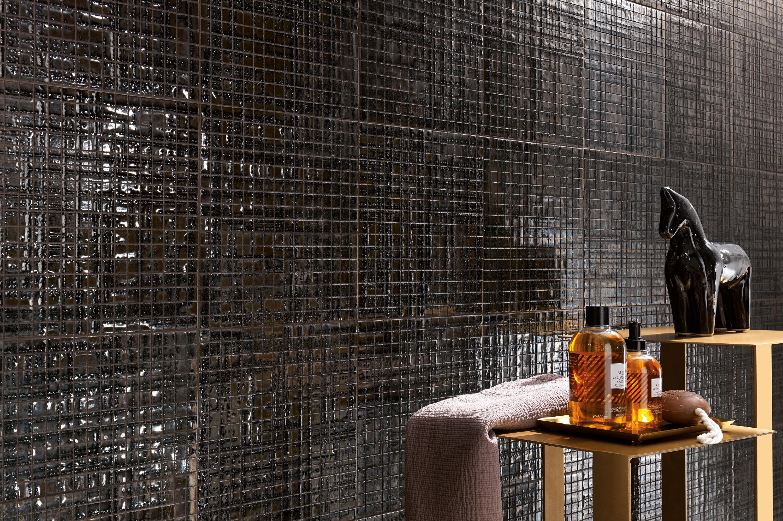 fap mosaici dark side damasco black gloss ceramic. Black Bedroom Furniture Sets. Home Design Ideas