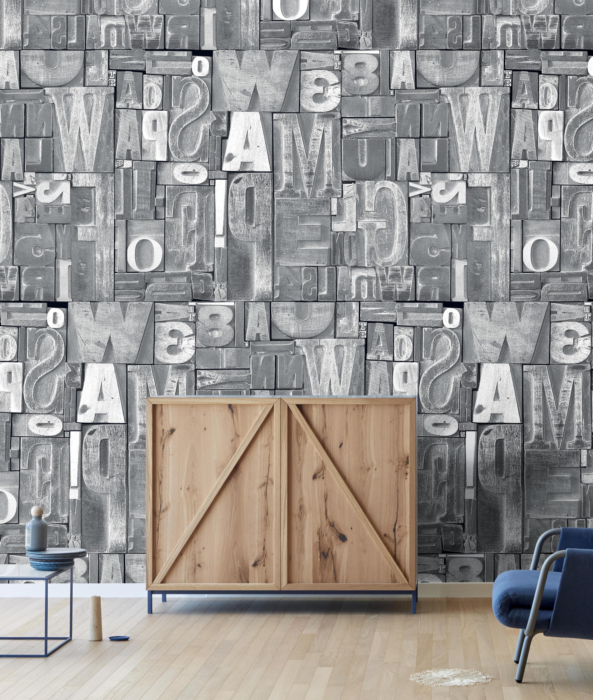 Letras de madera wall coverings wallpapers from - Letras de madera ...