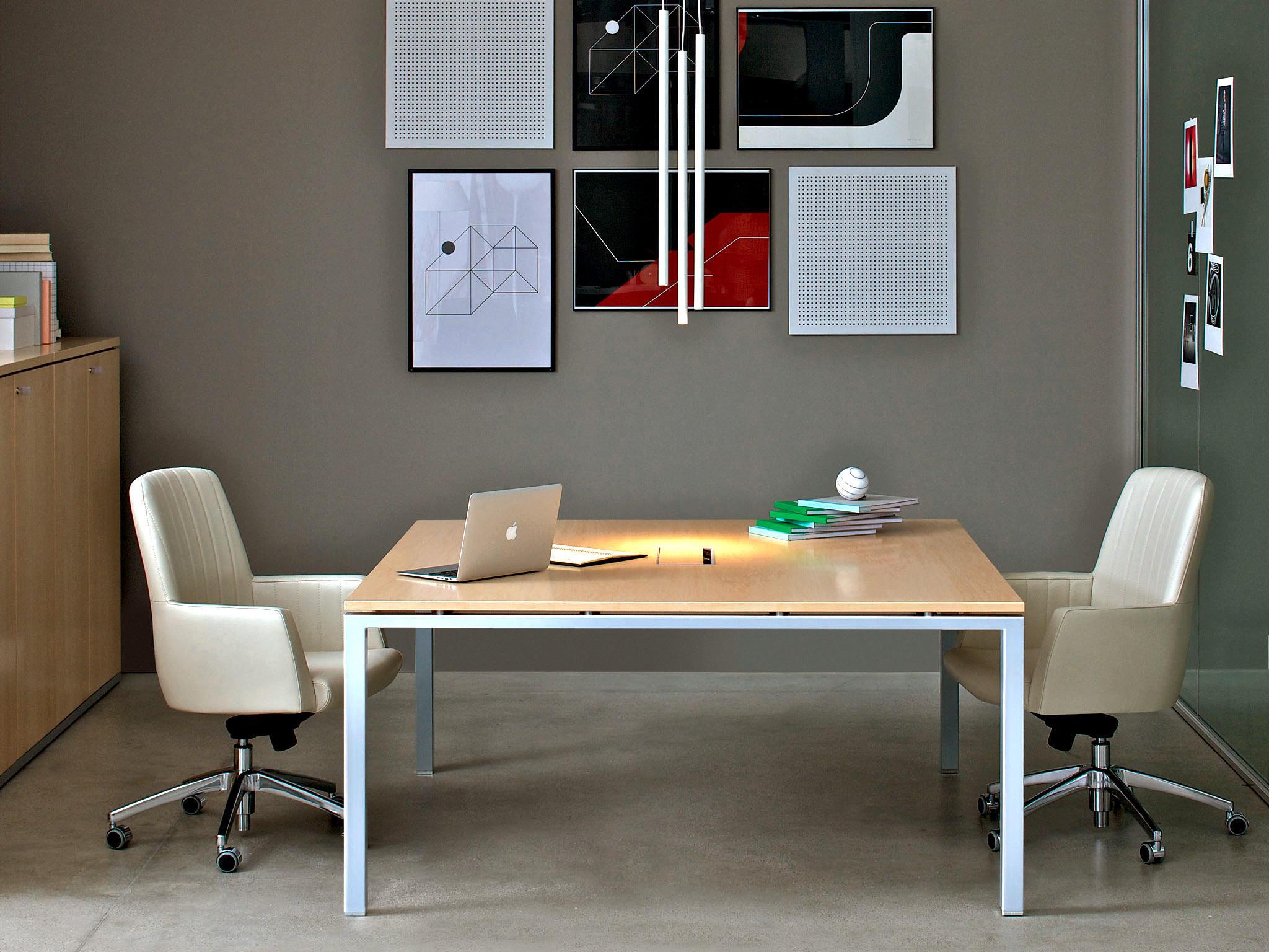 Asterisco in single desk escritorios individuales de estel group architonic - Tavolo riunioni ikea ...