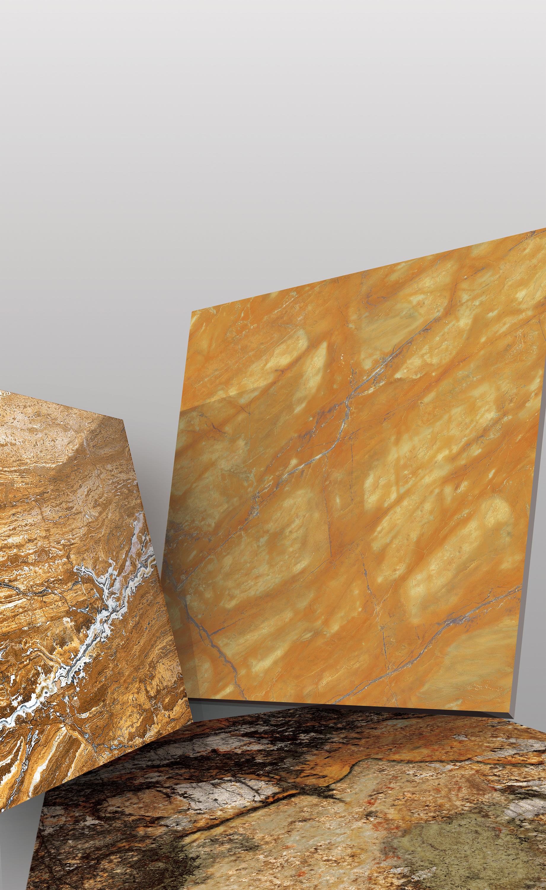 Yellow French Gold Natural Stone Panels From Gani