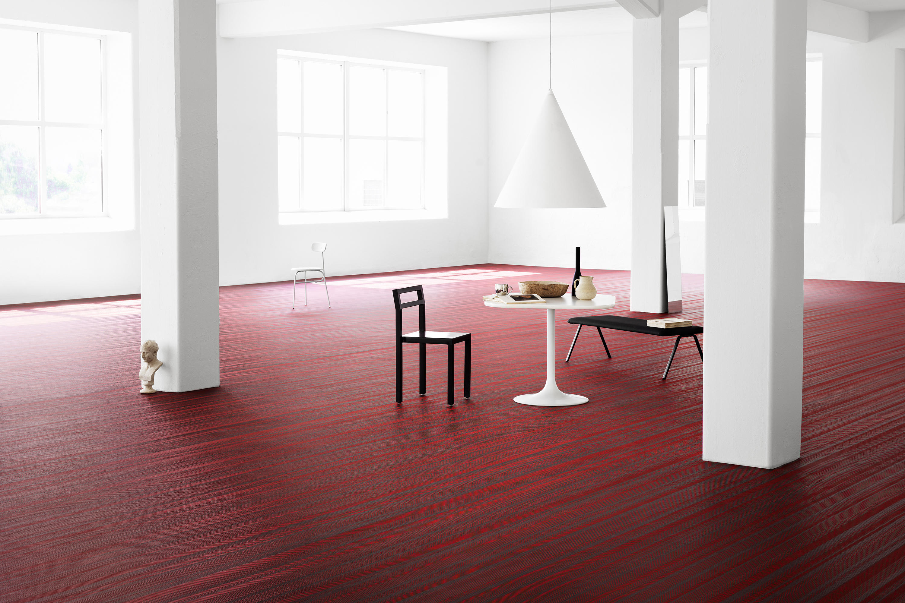 Bolon by jean nouvel design no 6 wall to wall carpets for Jean nouvel design