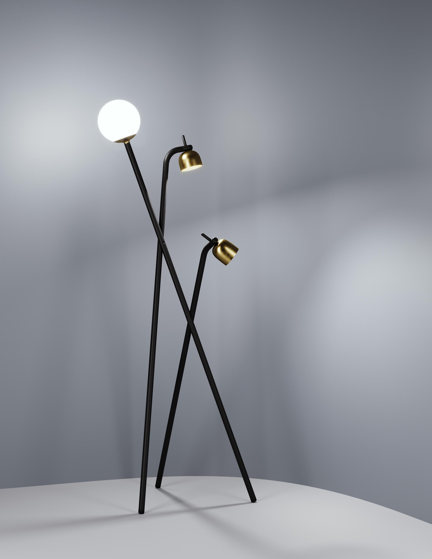 TRIPOD FLOOR LAMP - General lighting from FontanaArte   Architonic