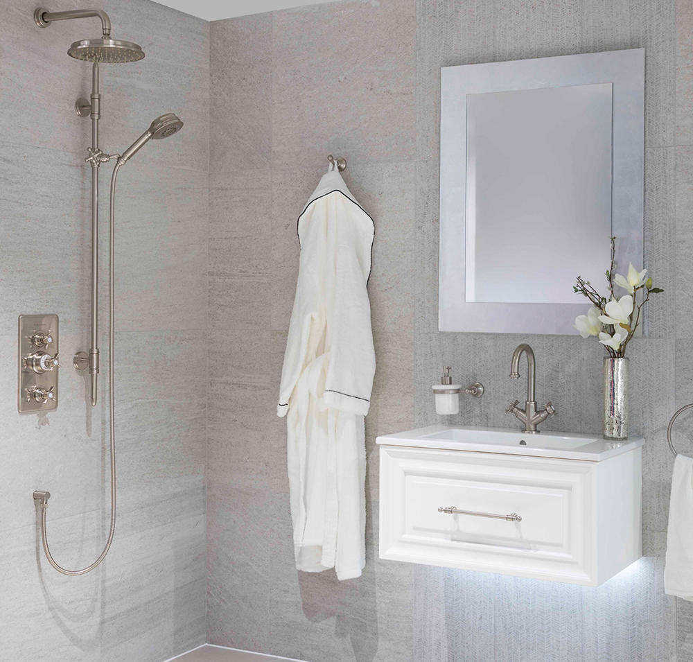 BIARRITZ  SHOWER HEAD AND WALL SHOWER ARM - Shower taps / mixers from BAGNODESIGN  Architonic
