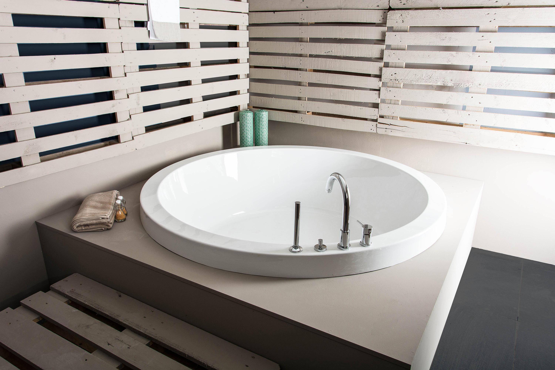 BATHING | COMO INSET BATH TUB - Built-in bathtubs from BAGNODESIGN ...