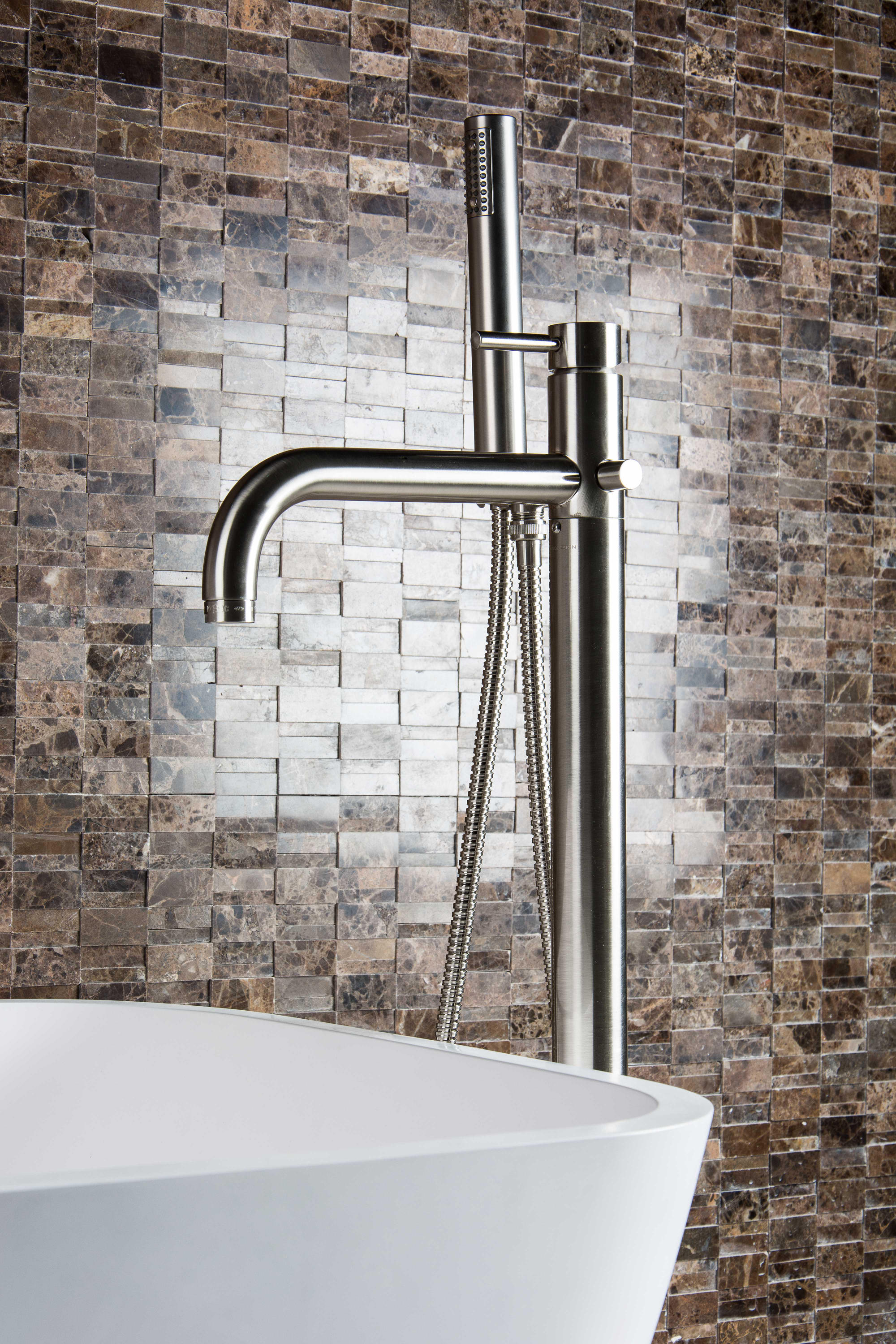 M Line Floor Mounted Basin Mixer Wash Basin Taps From